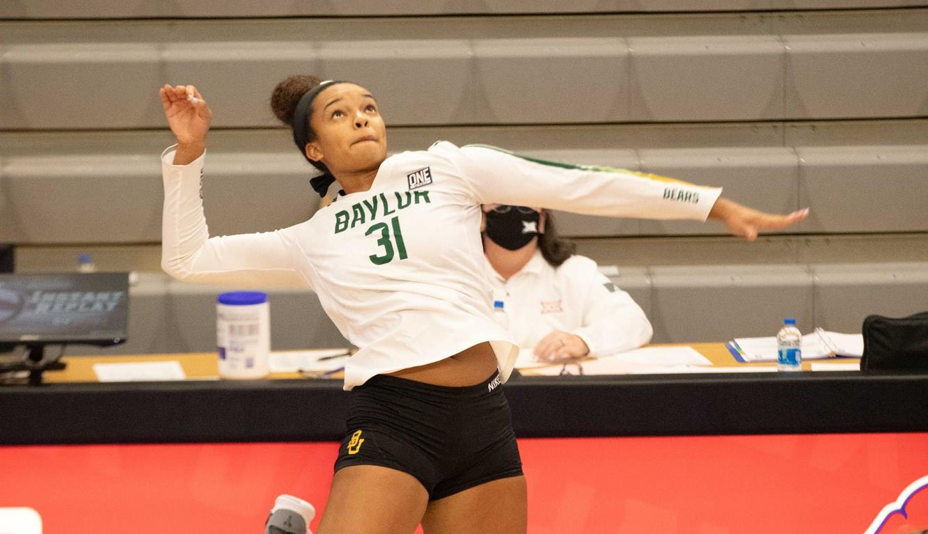 Lauren Harrison Volleyball Baylor University Athletics