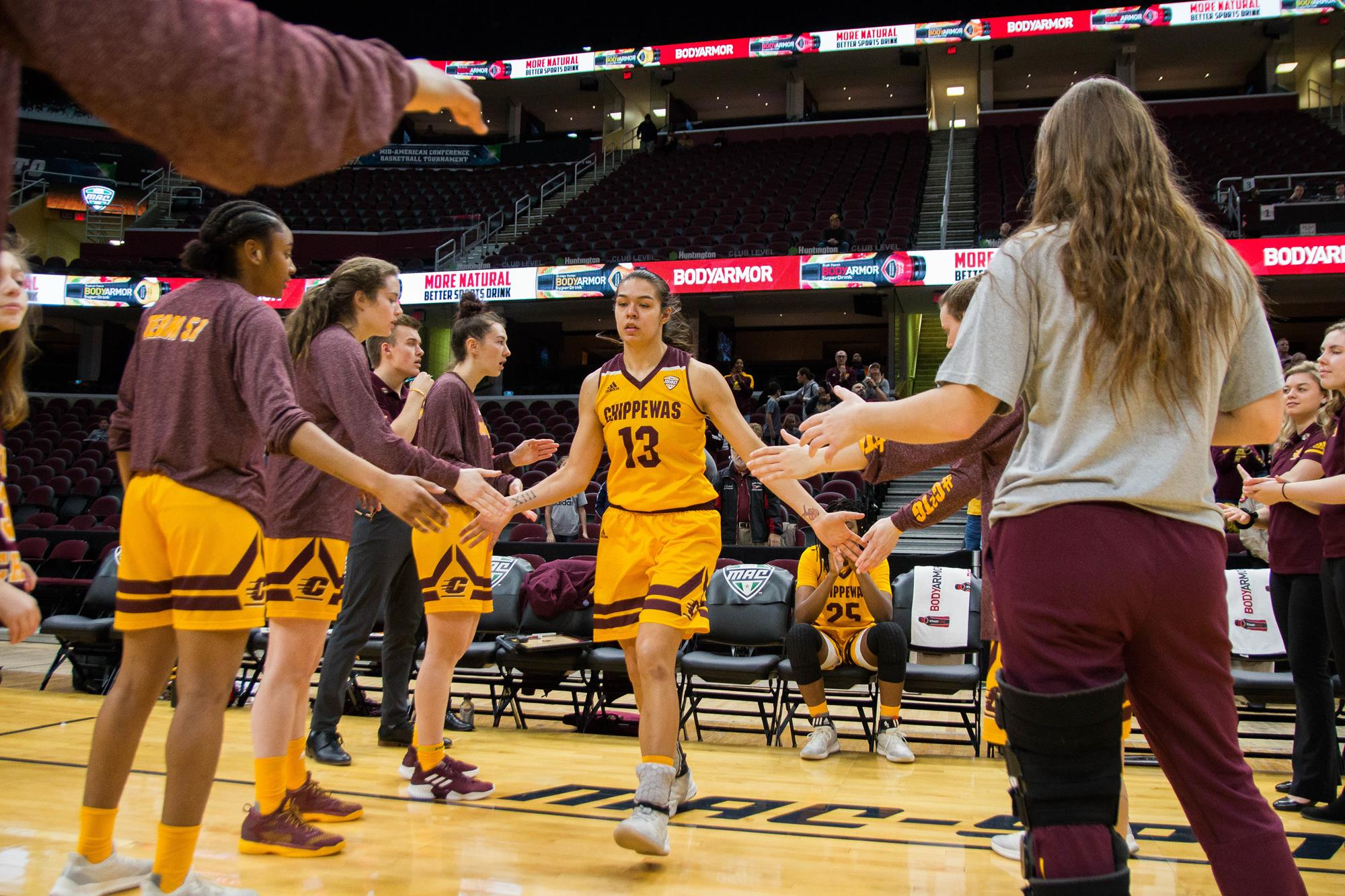 Reyna Frost Women S Basketball Central Michigan