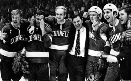 Image result for cornell university ice hockey 1970 championship images