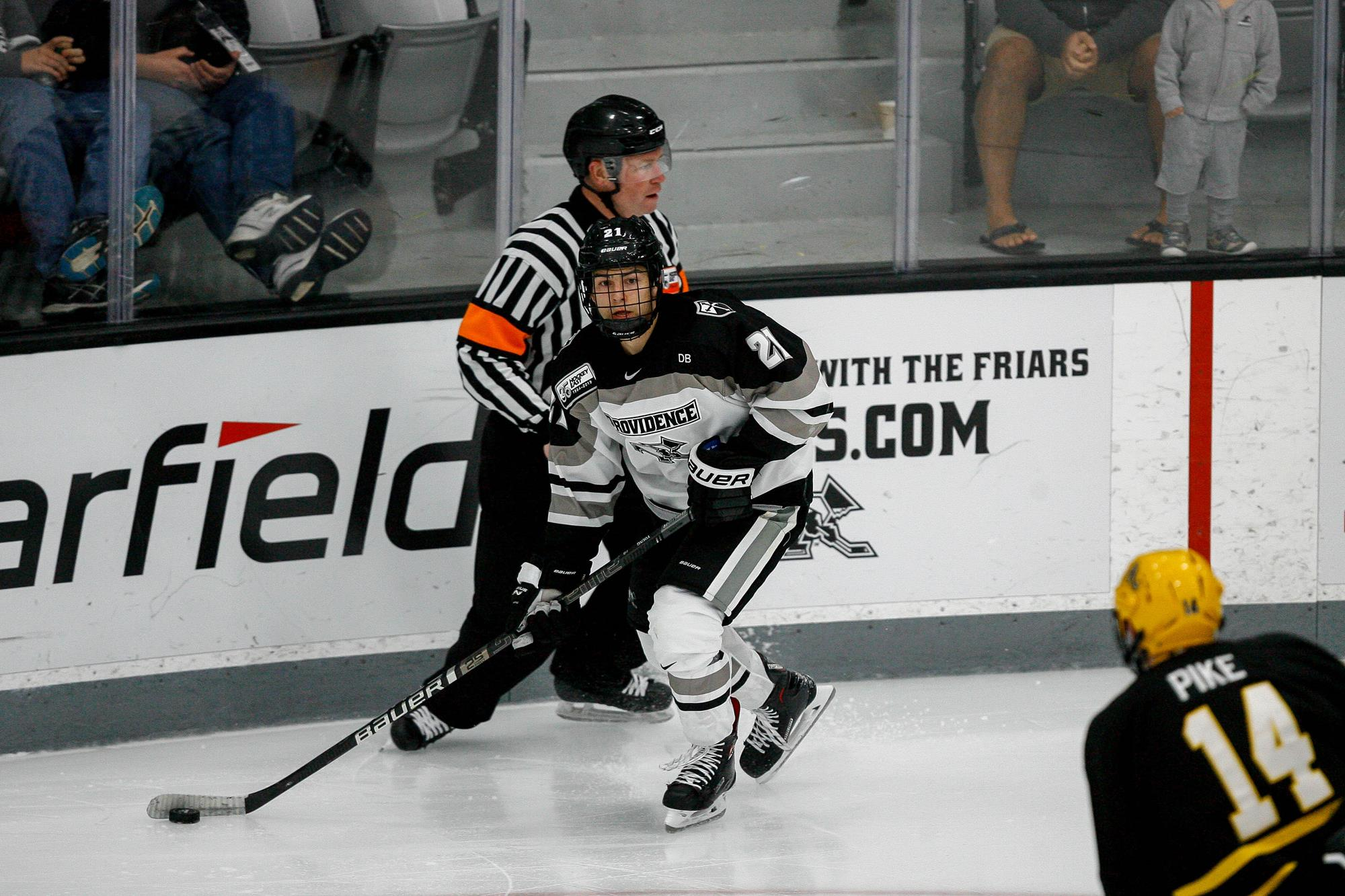 save off 84324 6541e Spenser Young - Men's Ice Hockey - Providence College Athletics