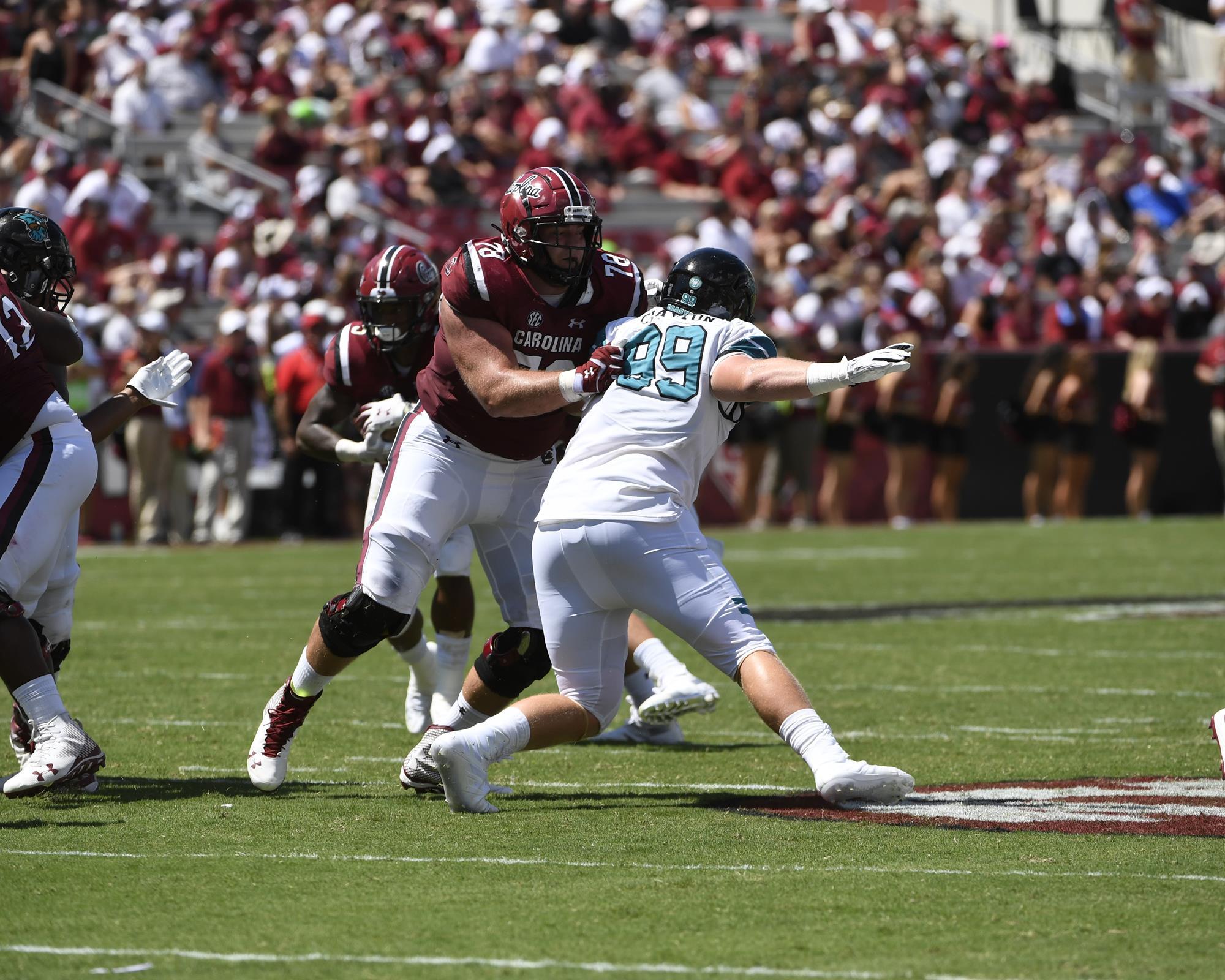 detailed look bbceb 0ade0 Zack Bailey - Football - University of South Carolina Athletics