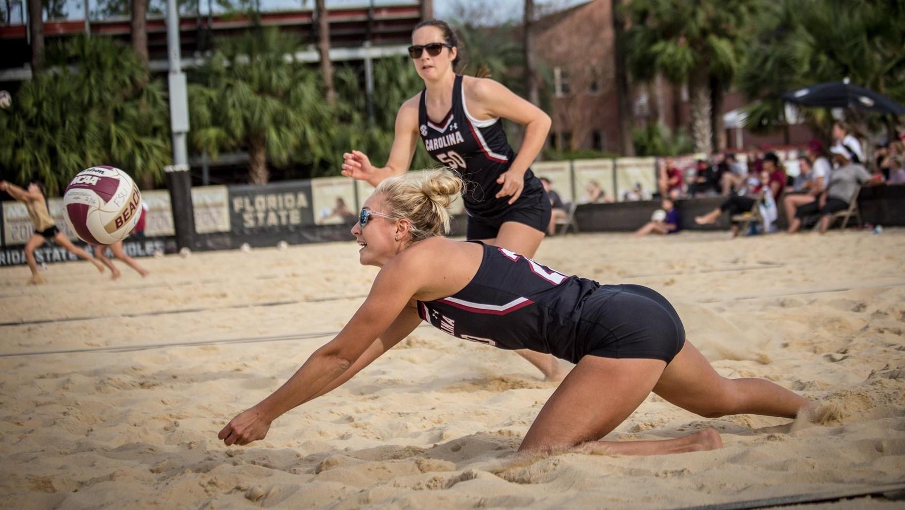 Lydia Dimke Women S Beach Volleyball University Of South Carolina Athletics