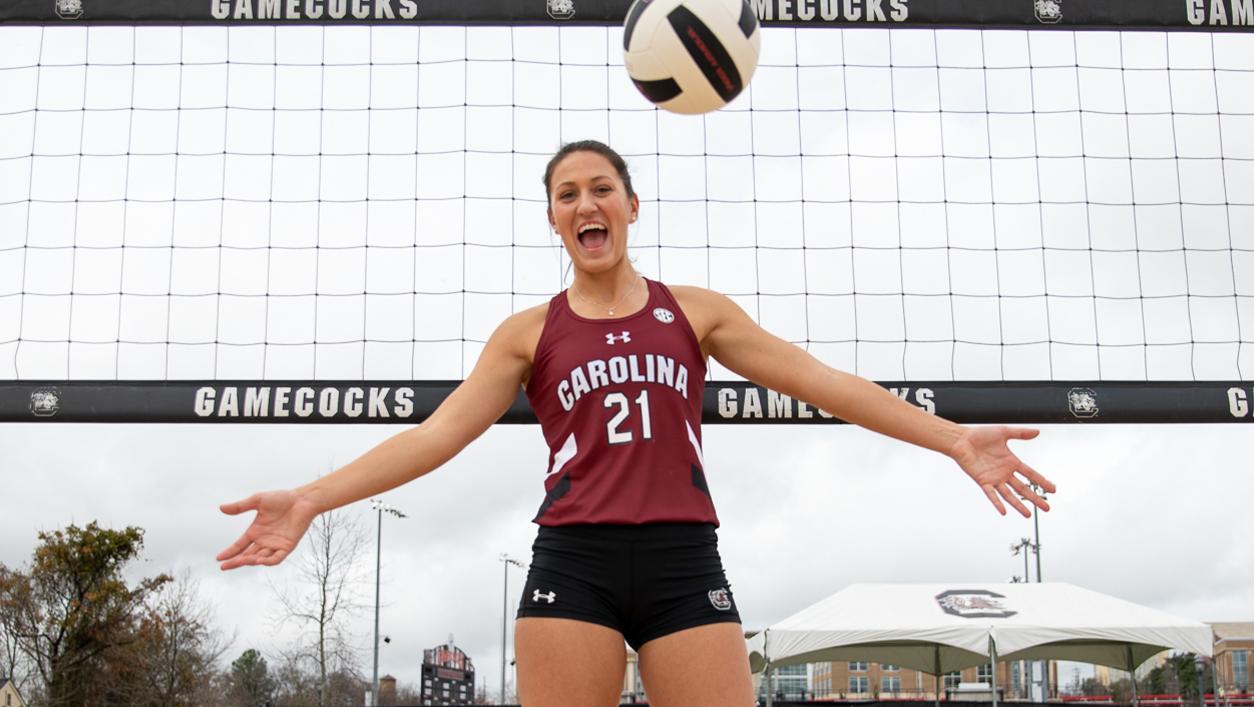 Madison Brabham Women S Beach Volleyball University Of South Carolina Athletics