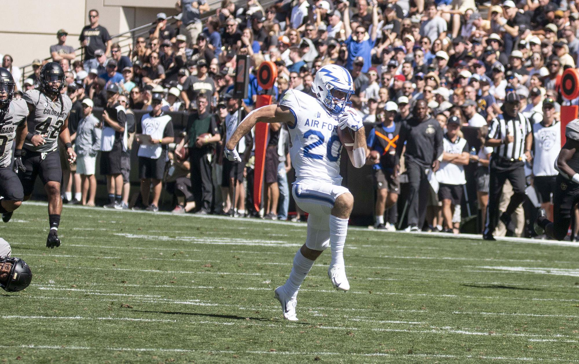 Air Force is flying high with deep ball passes