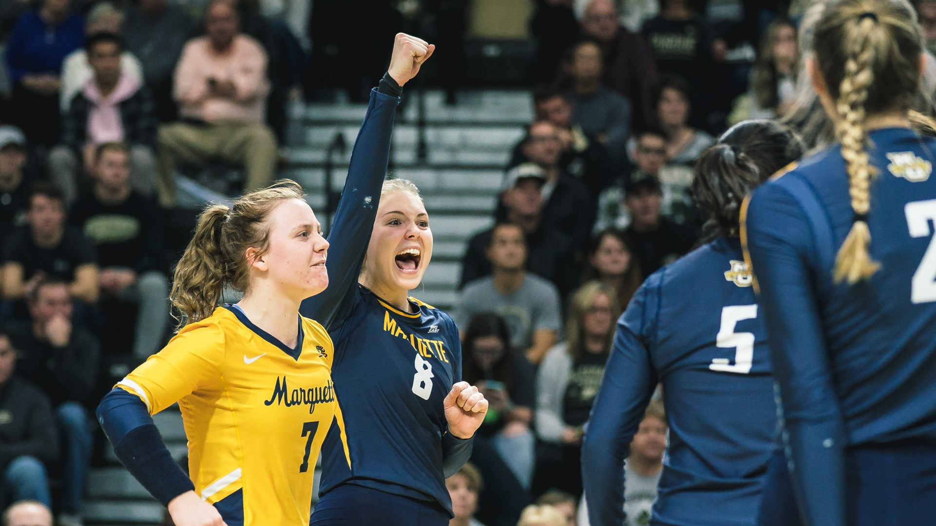 Hope Werch Women S Volleyball Marquette University Athletics