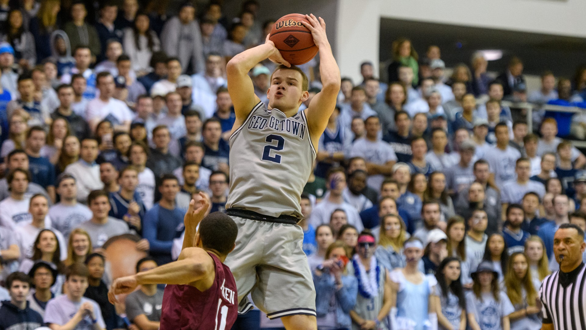 daeb4d4af65939 Mac McClung - Men's Basketball - Georgetown University Athletics