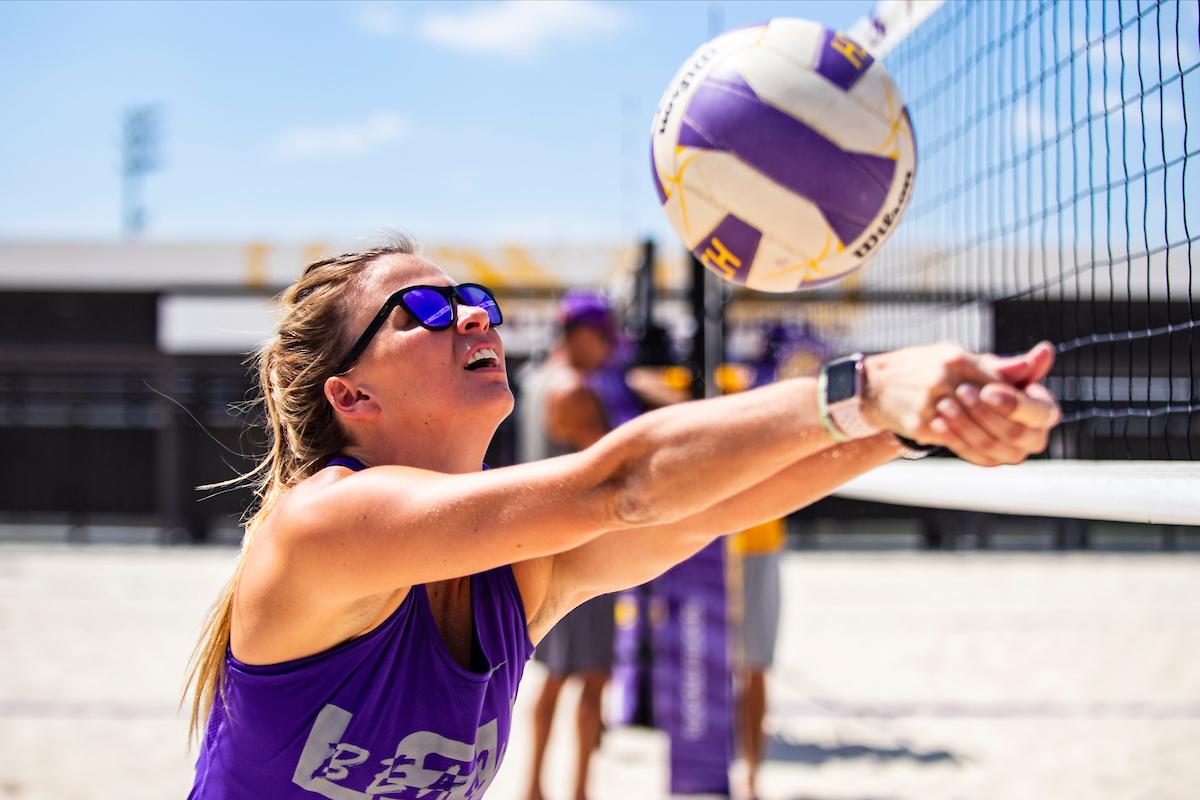 Hunter Domanski 2021 Beach Volleyball Lsu Tigers