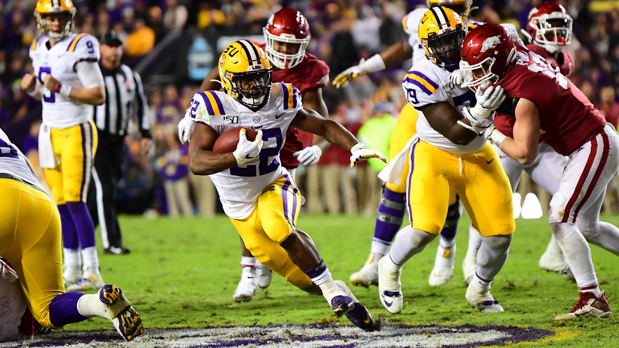 Image result for clyde edwards-helaire lsu