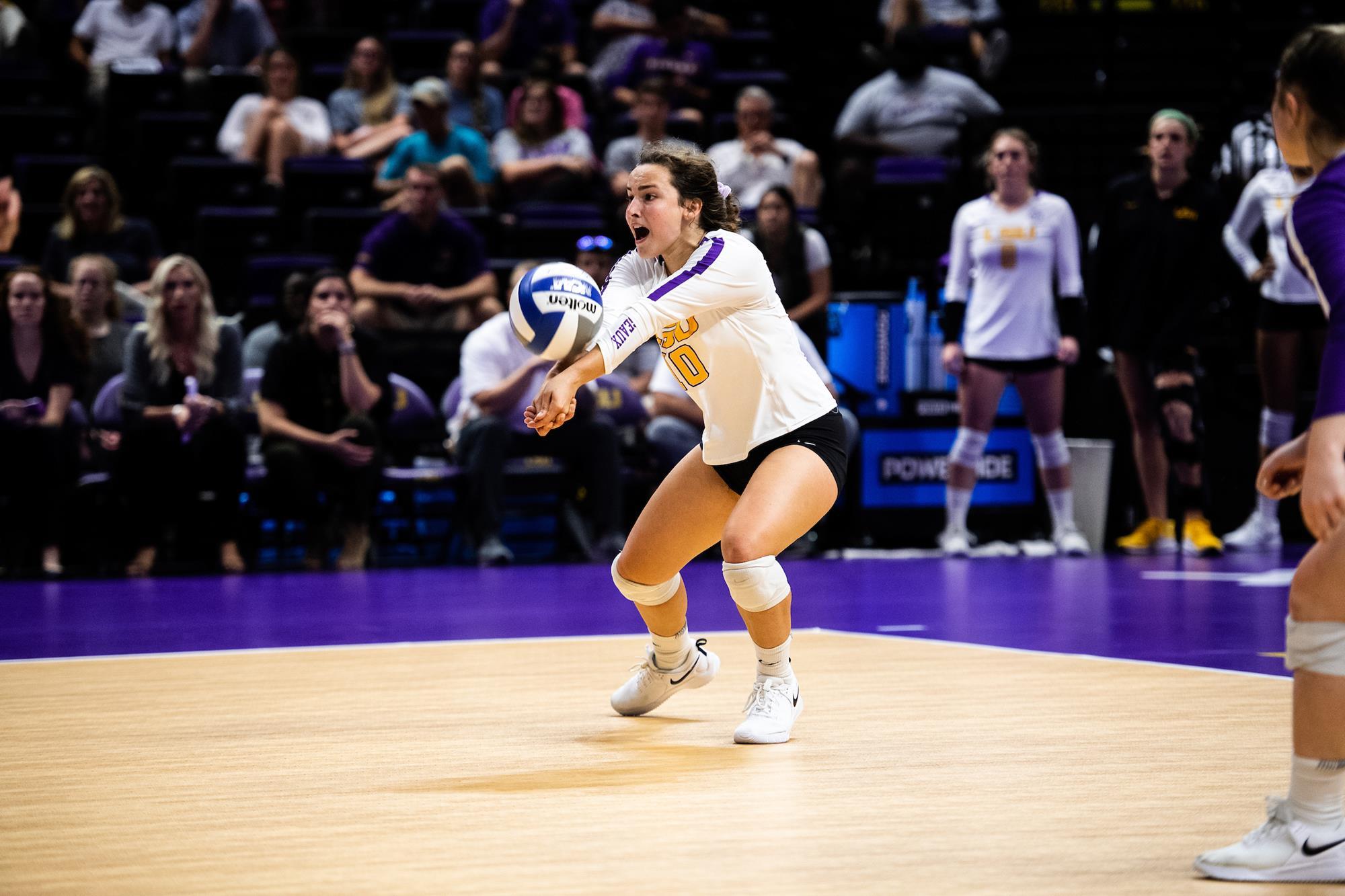 Jill Bohnet 2020 Volleyball Lsu Tigers