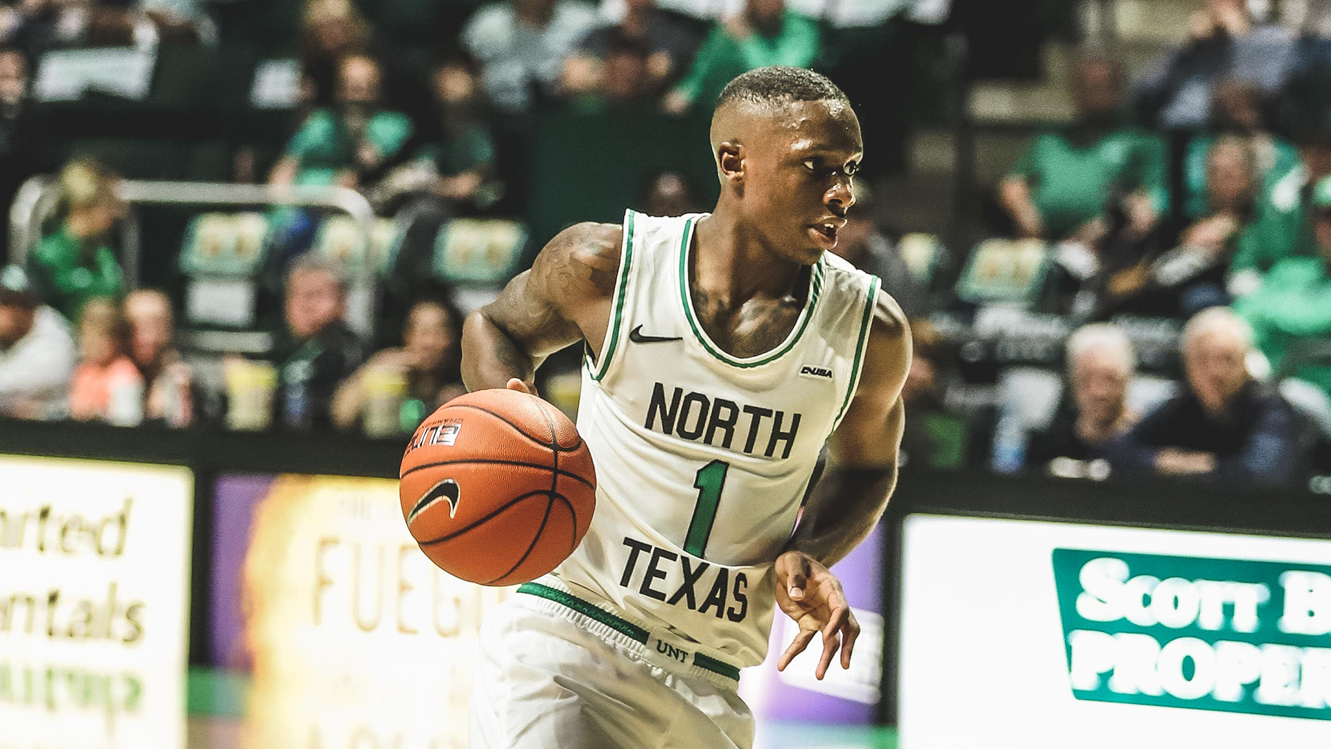 Umoja Gibson - Men's Basketball - University of North Texas Athletics