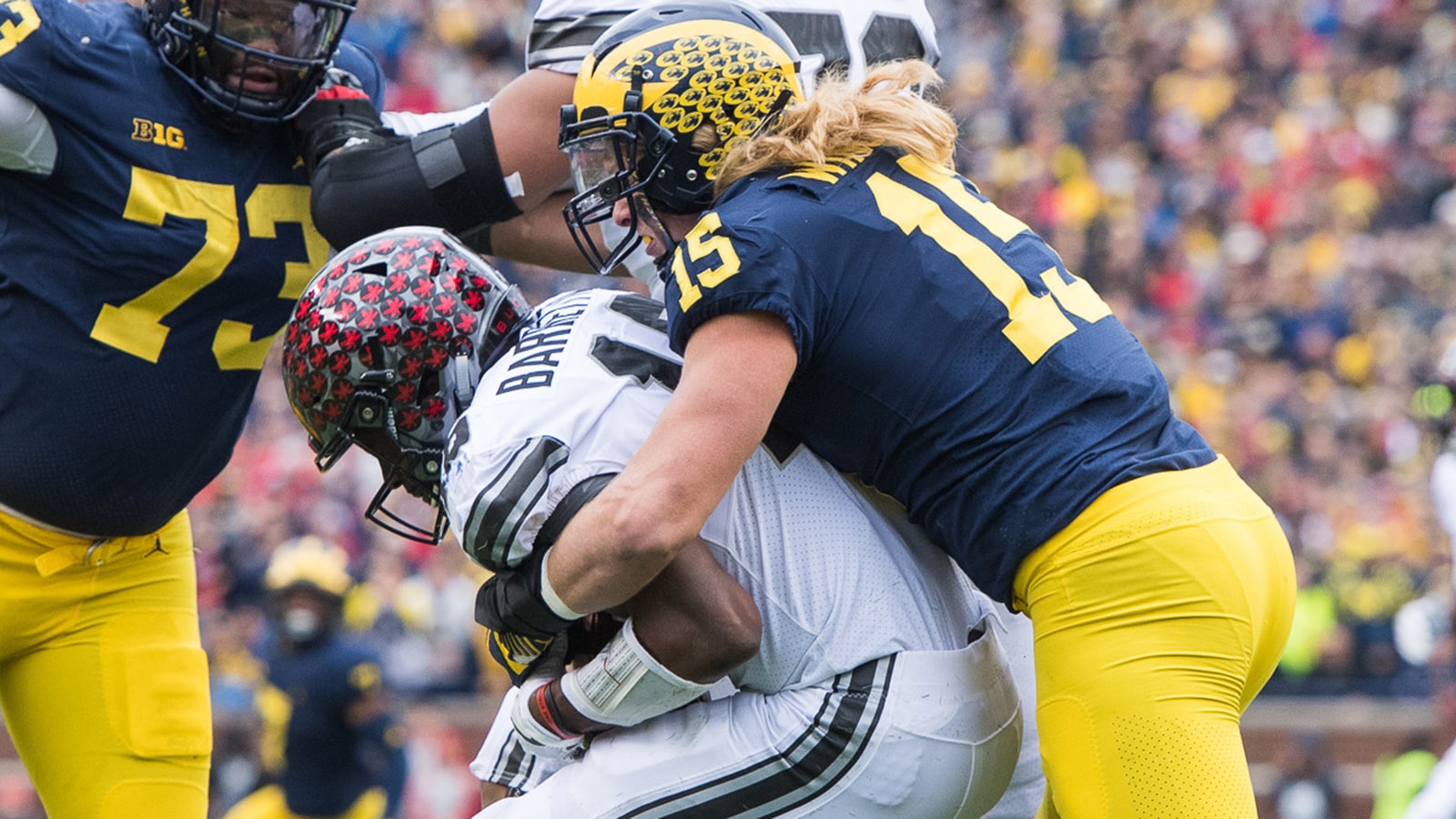 promo code 875ab 31503 Chase Winovich - Football - University of Michigan Athletics