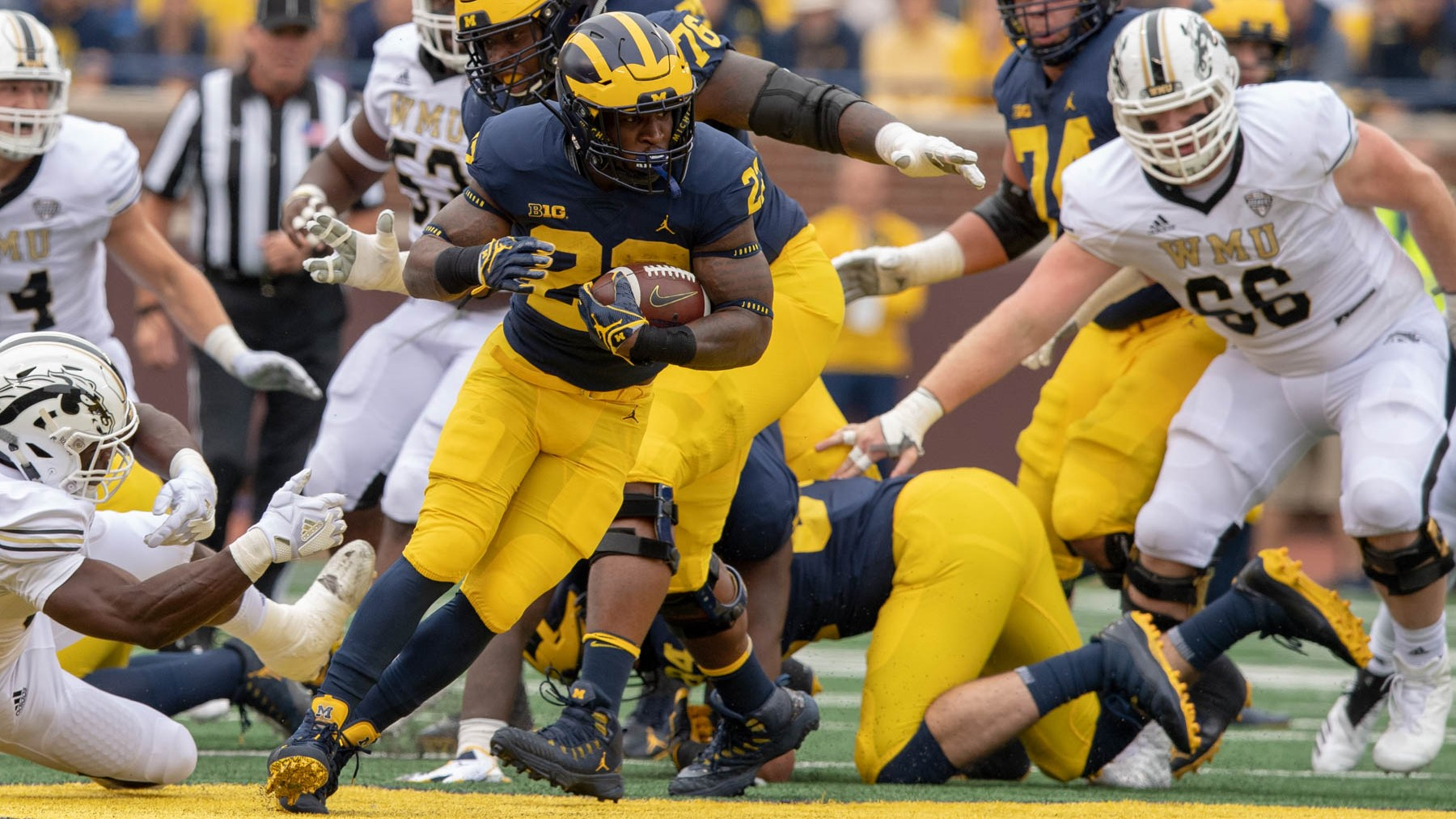 outlet store a8a91 09725 Karan Higdon - Football - University of Michigan Athletics