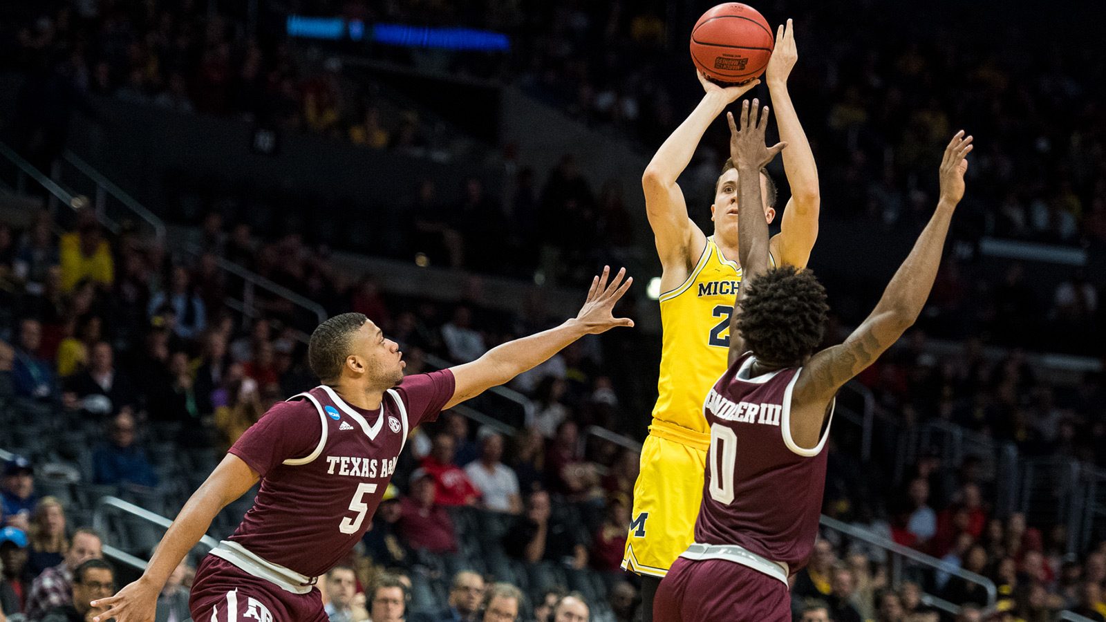 Duncan Robinson Men S Basketball University Of Michigan Athletics