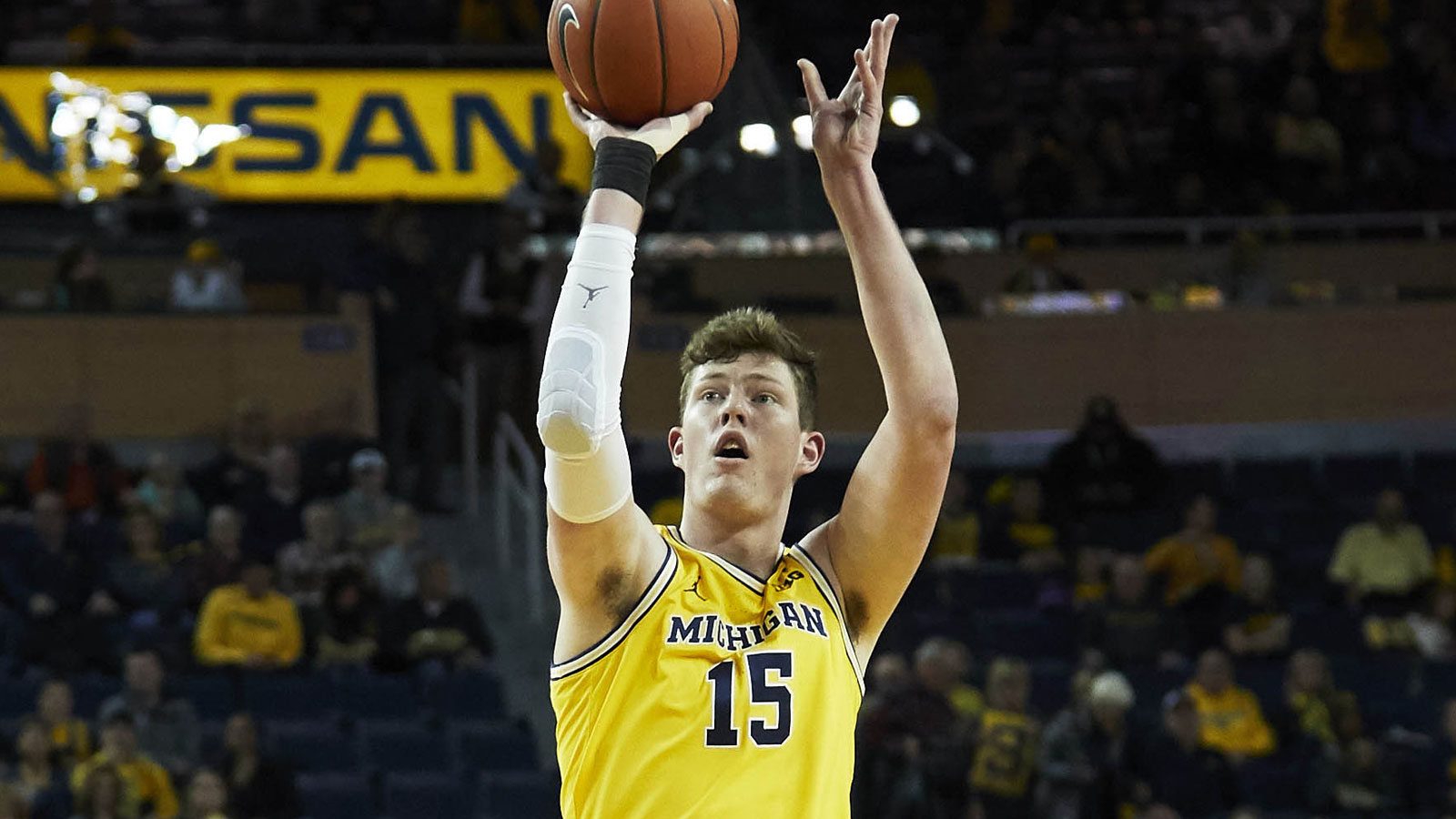 Jon Teske Men S Basketball University Of Michigan Athletics