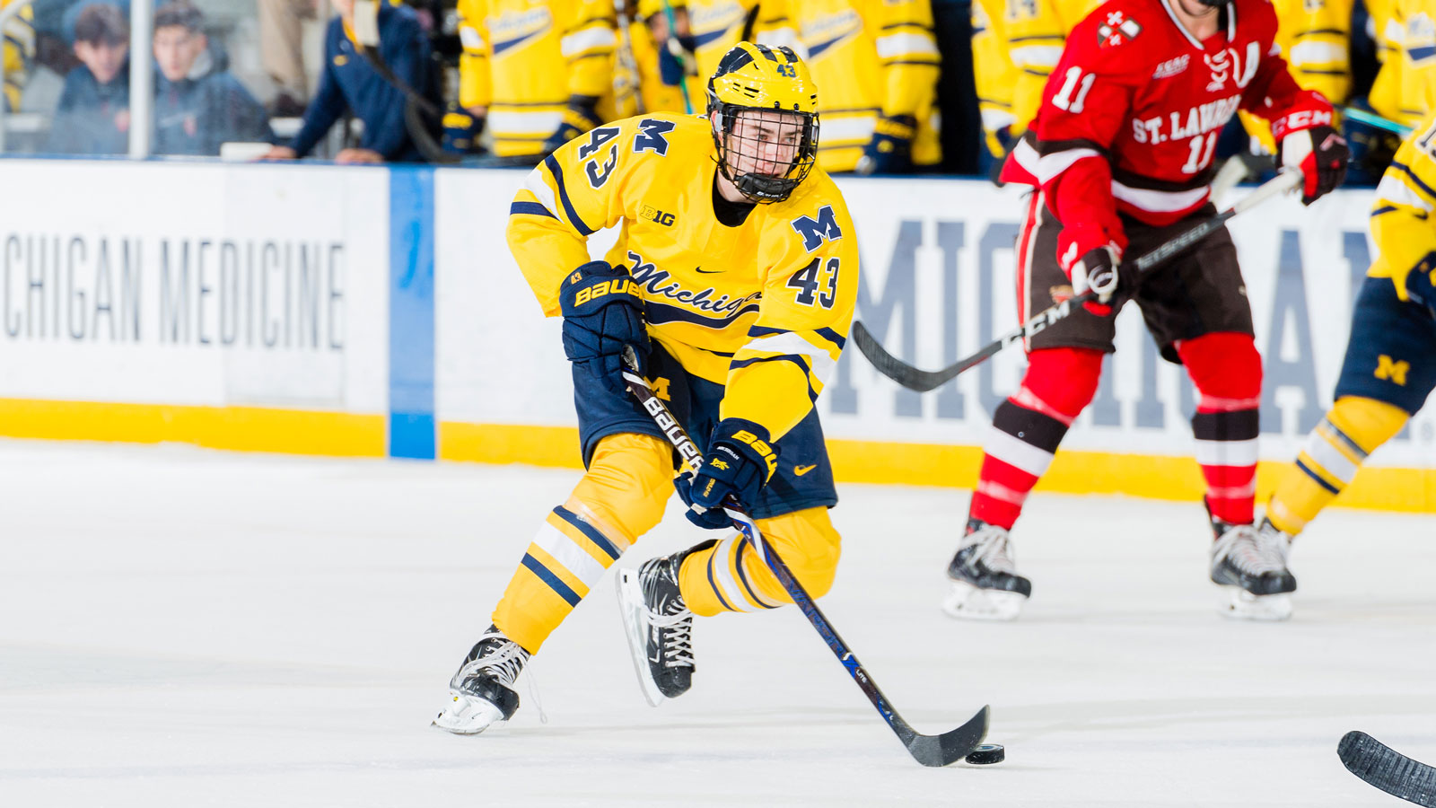new product 6521d 3d272 Quinn Hughes - Ice Hockey - University of Michigan Athletics