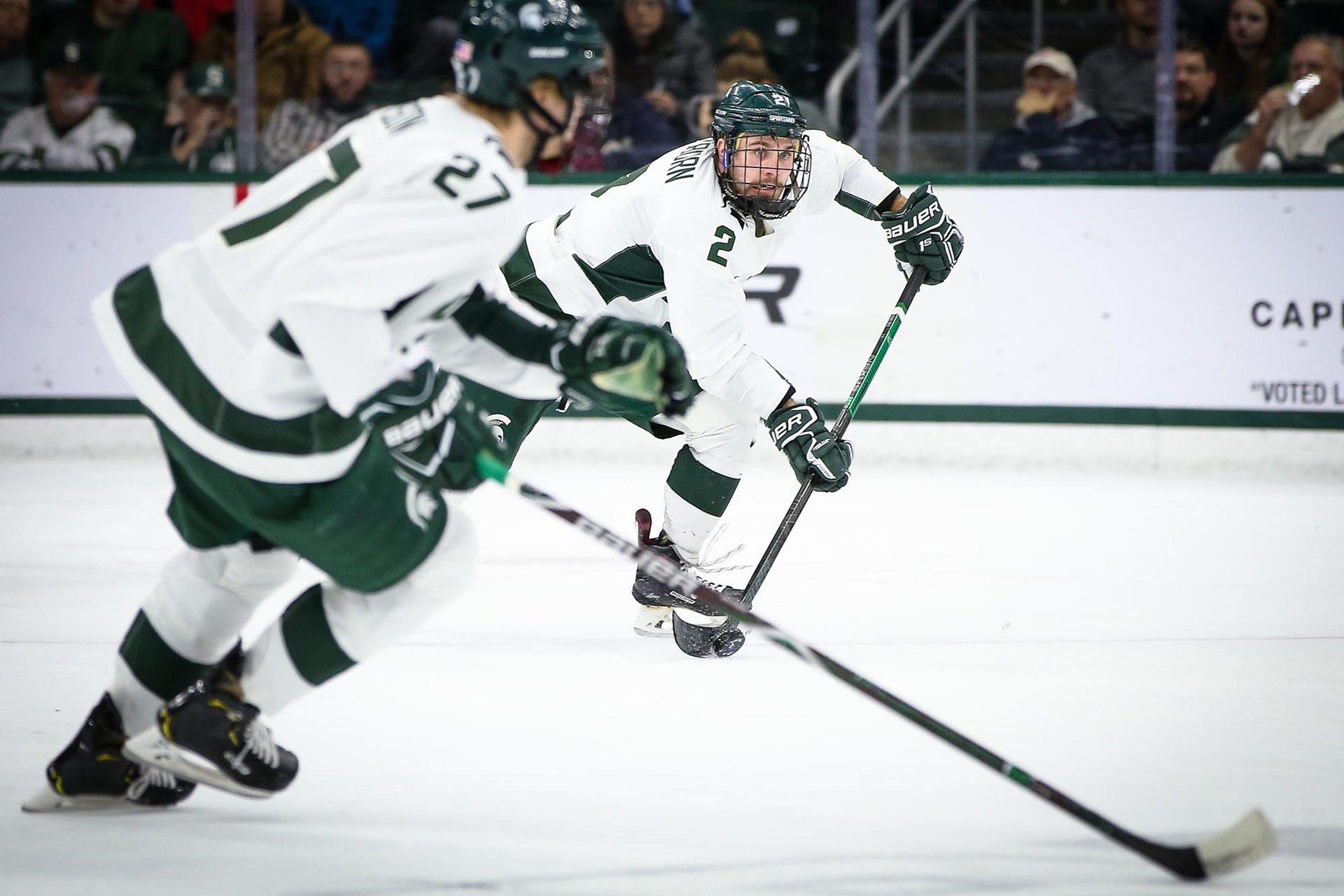 Zach Osburn - Men's Ice Hockey - Michigan State University