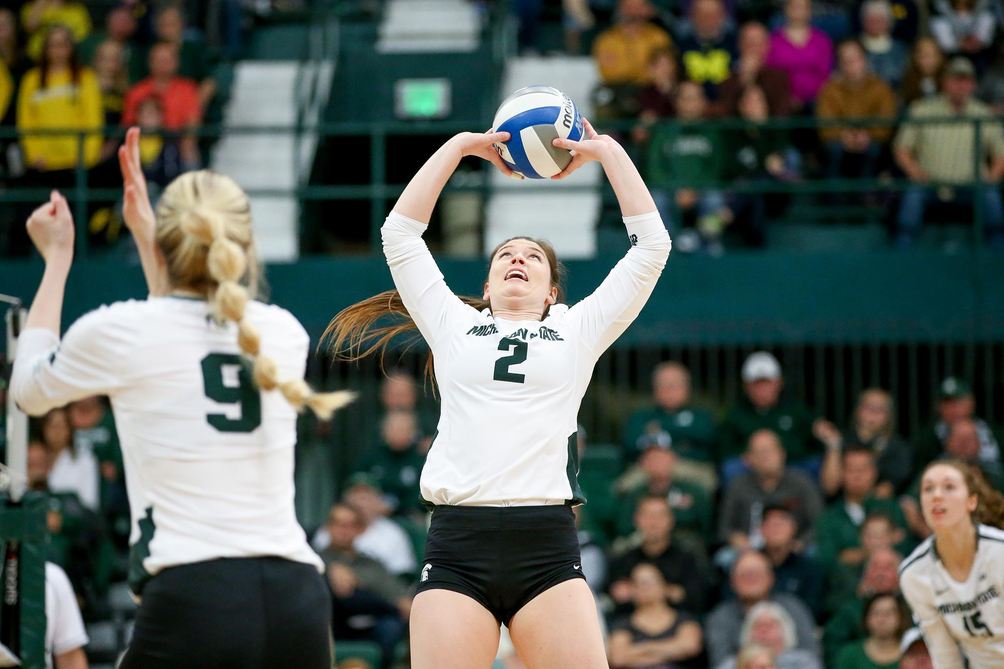 Audrey Alford Volleyball Michigan State University Athletics
