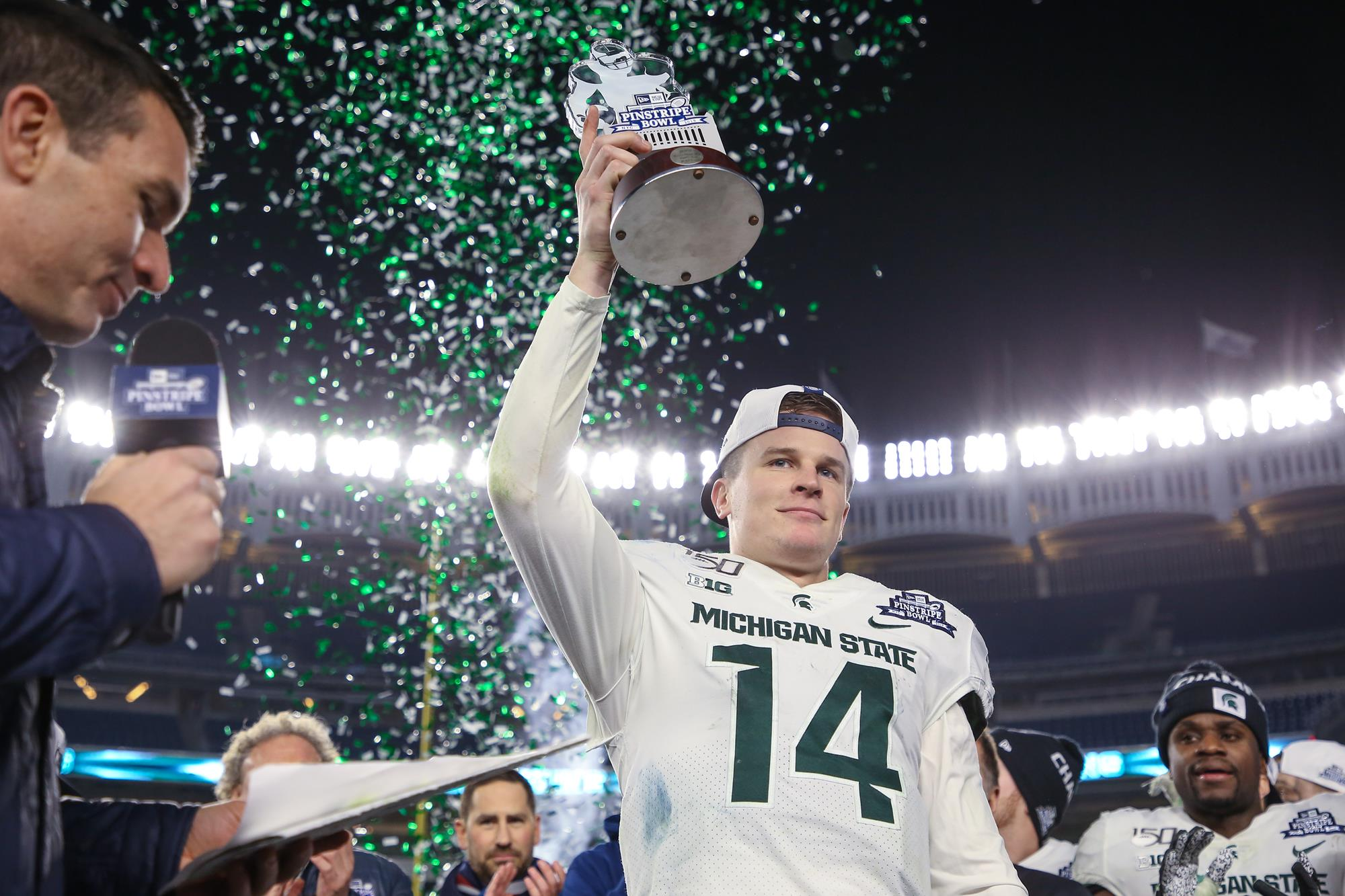 Brian Lewerke - Football - Michigan State University Athletics