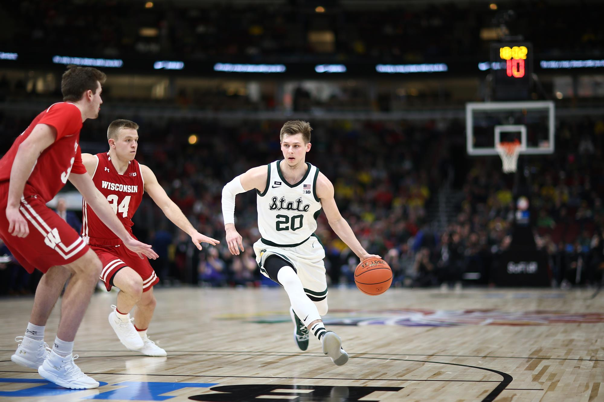 Matt Mcquaid M Basketball Michigan State University