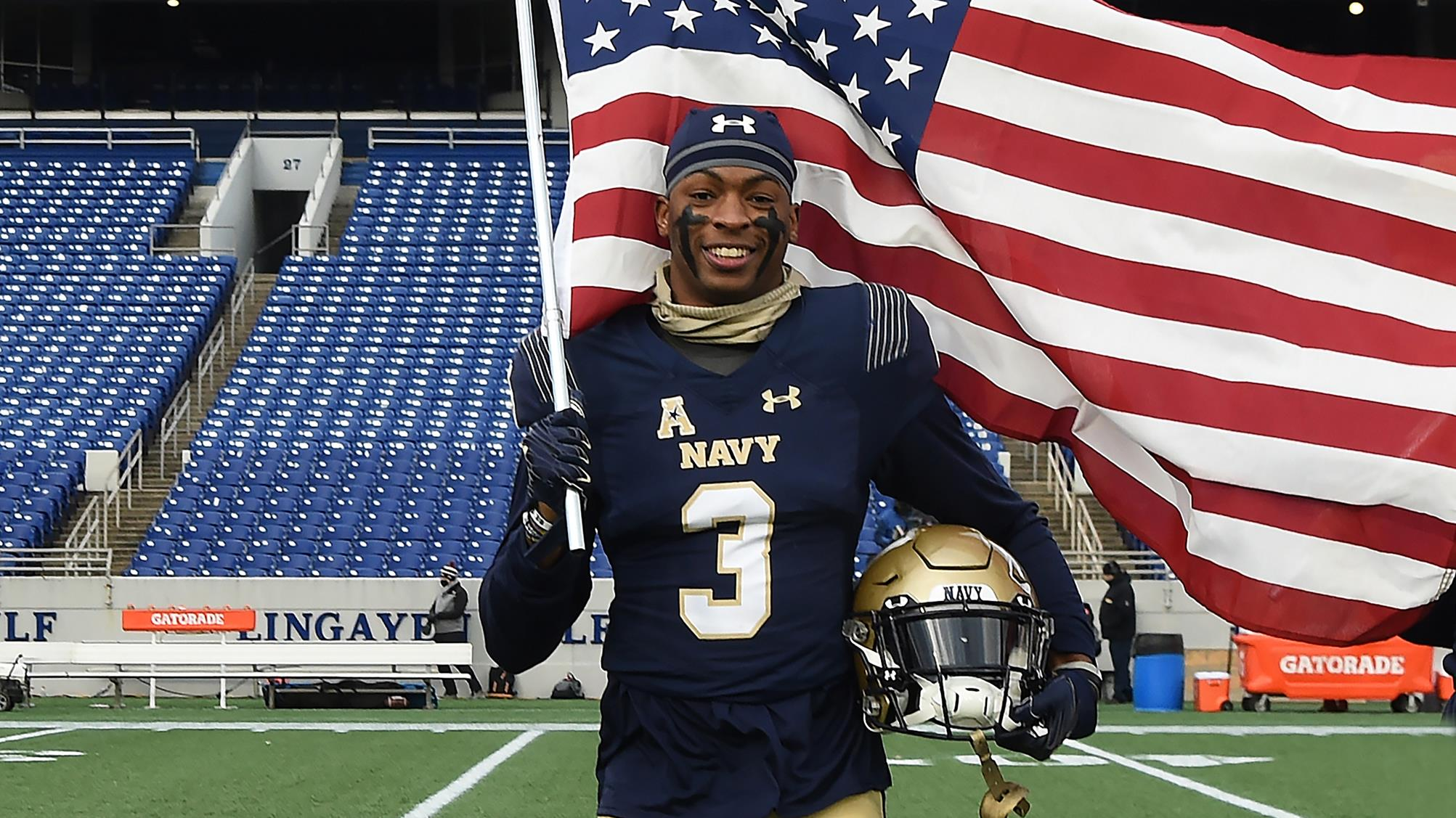 U.S. Navy Won't Let Rookie Cornerback Cameron Kinley Delay Commission to Play for Tampa Bay Buccaneers