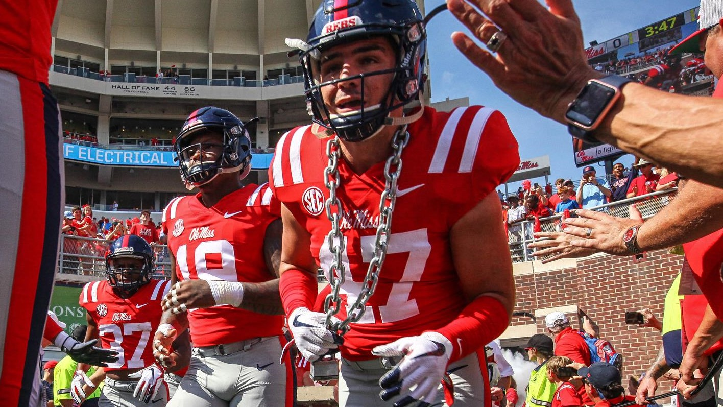 Ty Rocconi Football Ole Miss Athletics