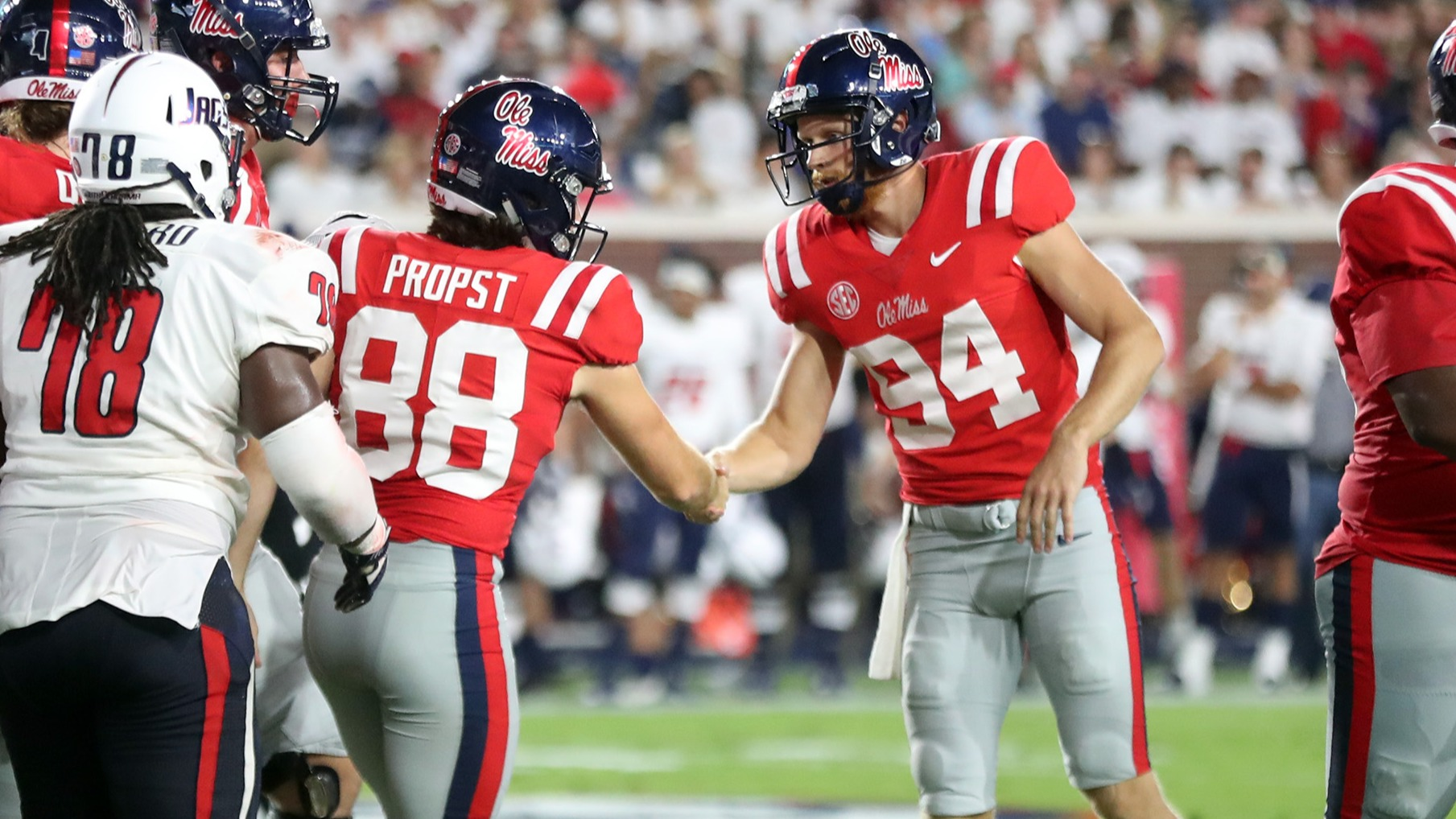 Jack Propst Football Ole Miss Athletics