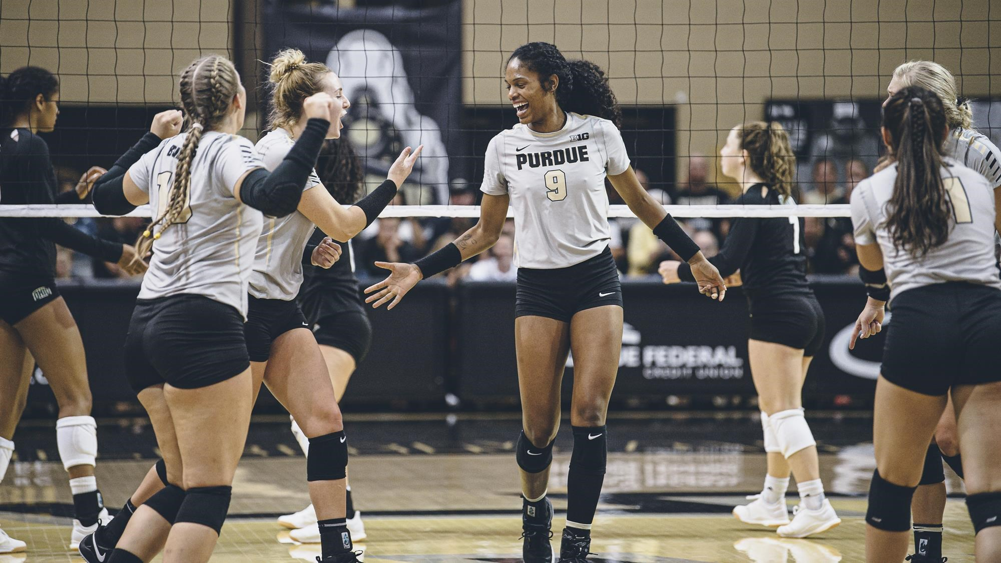 Shavona Cuttino Volleyball Purdue University Athletics