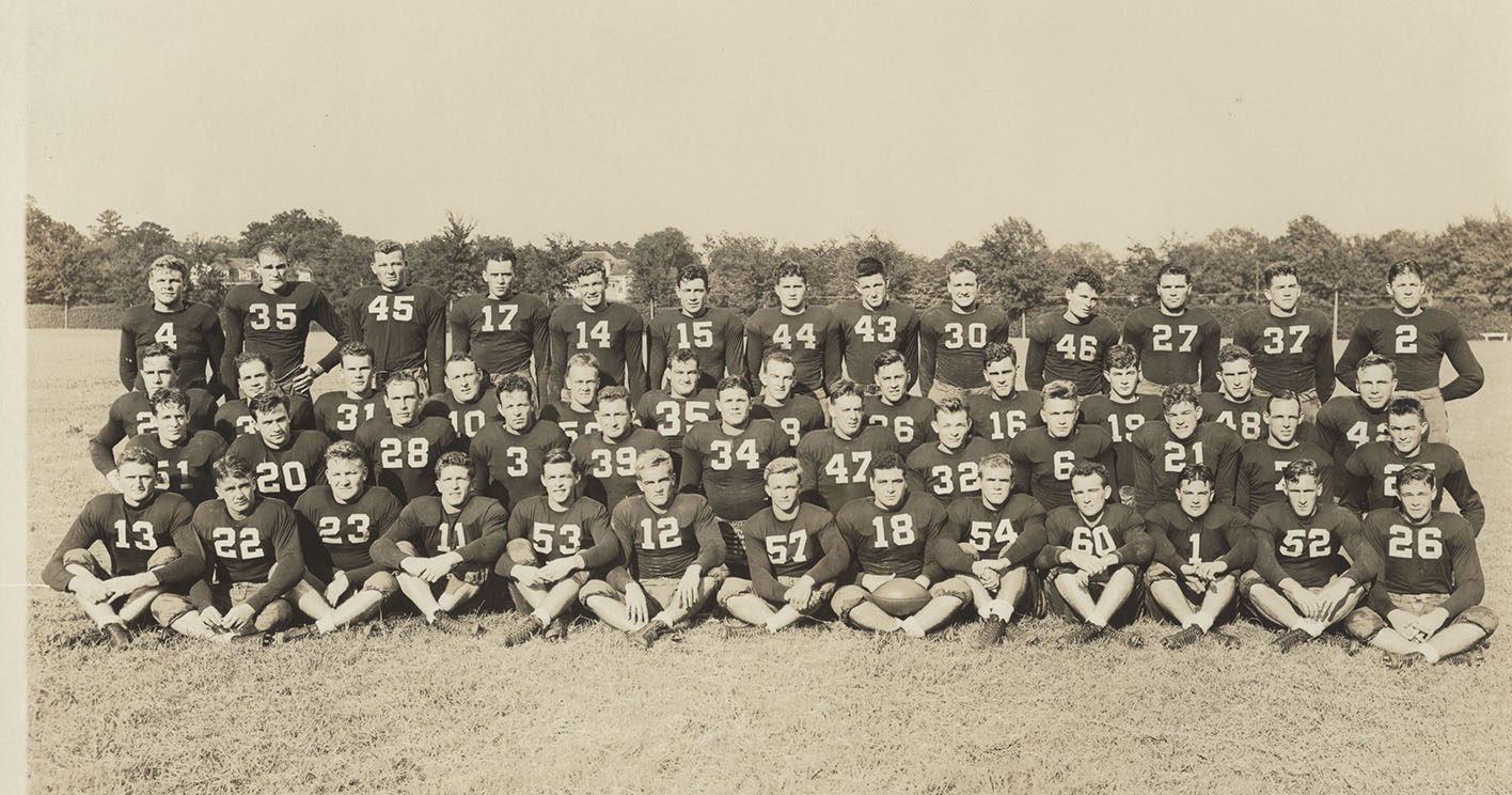 1937 Football Archives - University of Alabama Athletics