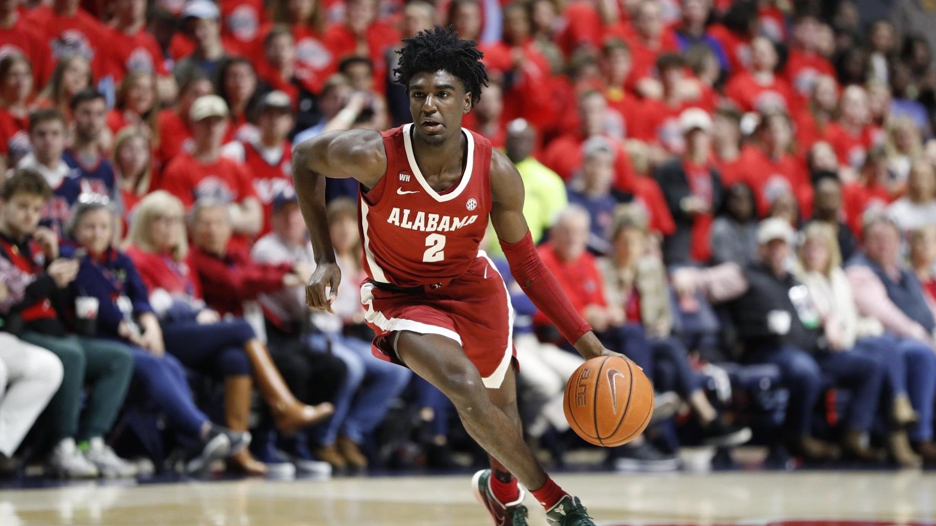 Kira Lewis Jr. - Men's Basketball - University of Alabama Athletics