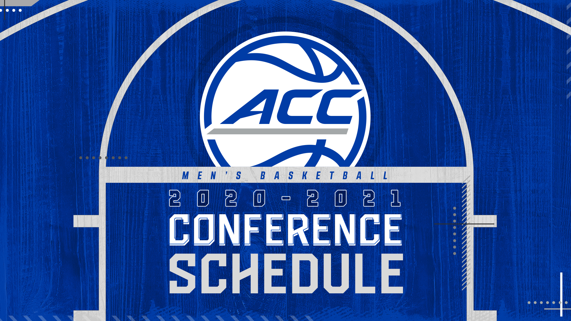 2020 21 Men S Basketball Conference Schedule Announced Atlantic Coast Conference
