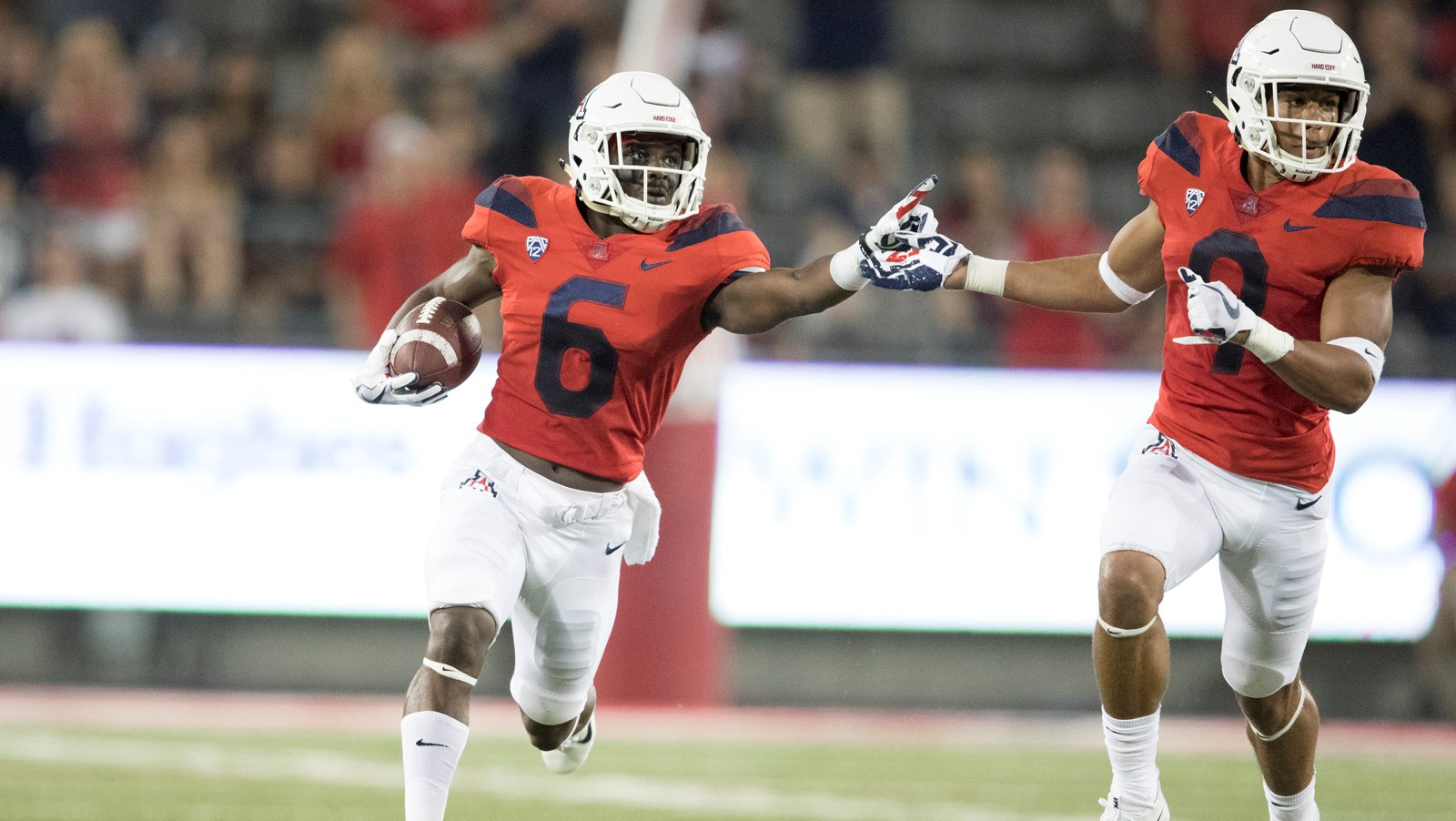 Uofa Football Score >> Shun Brown Football University Of Arizona Athletics