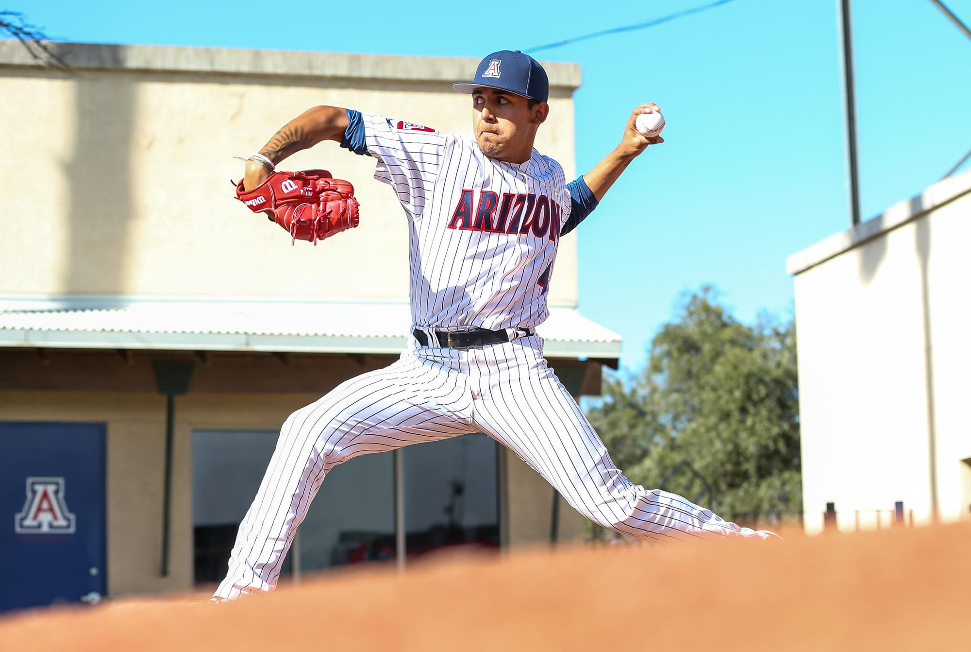 Gil Luna Baseball University Of Arizona Athletics