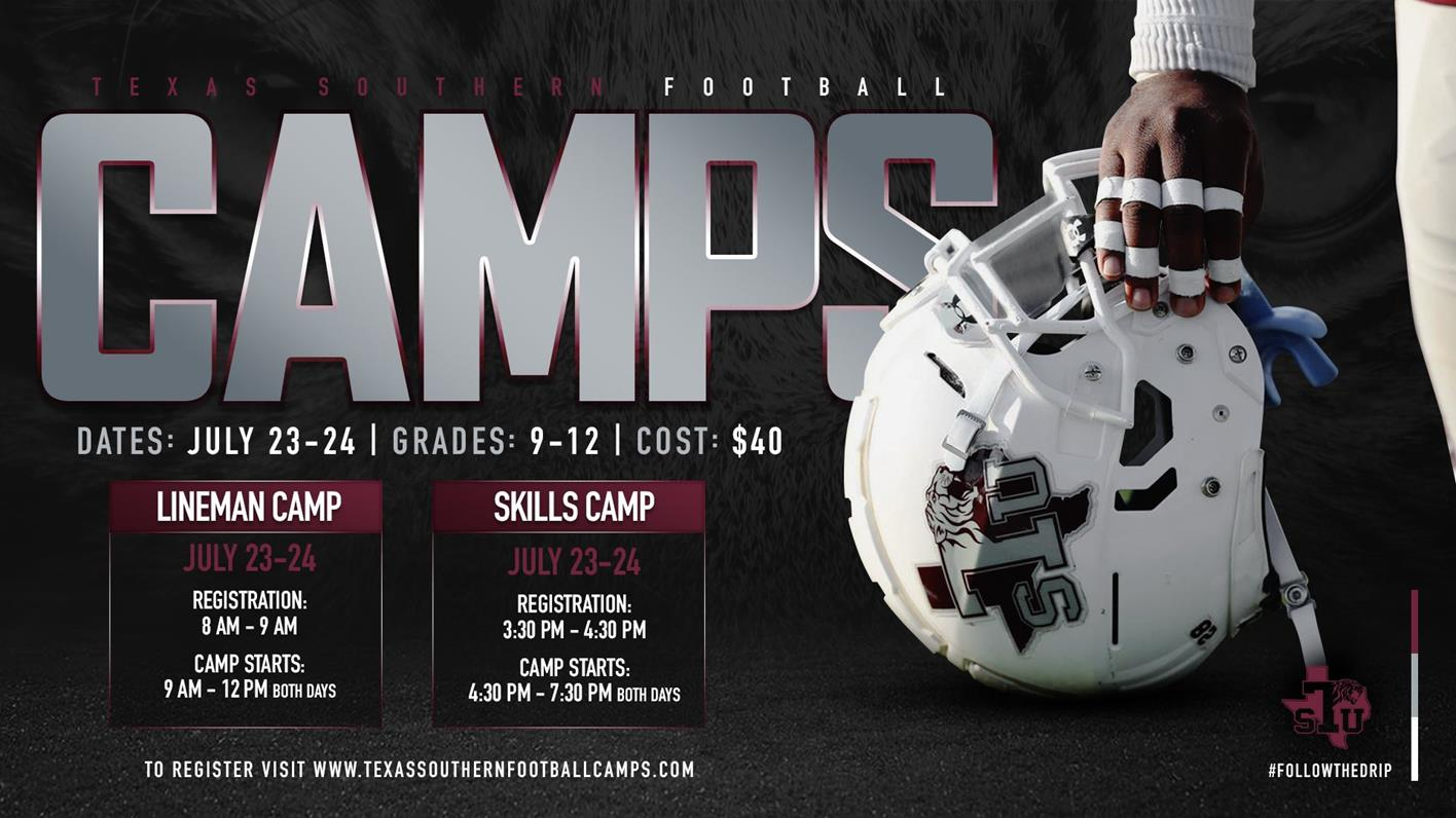 Football To Hold Pair Of Camps July 23-24 For Skill Athletes, Lineman