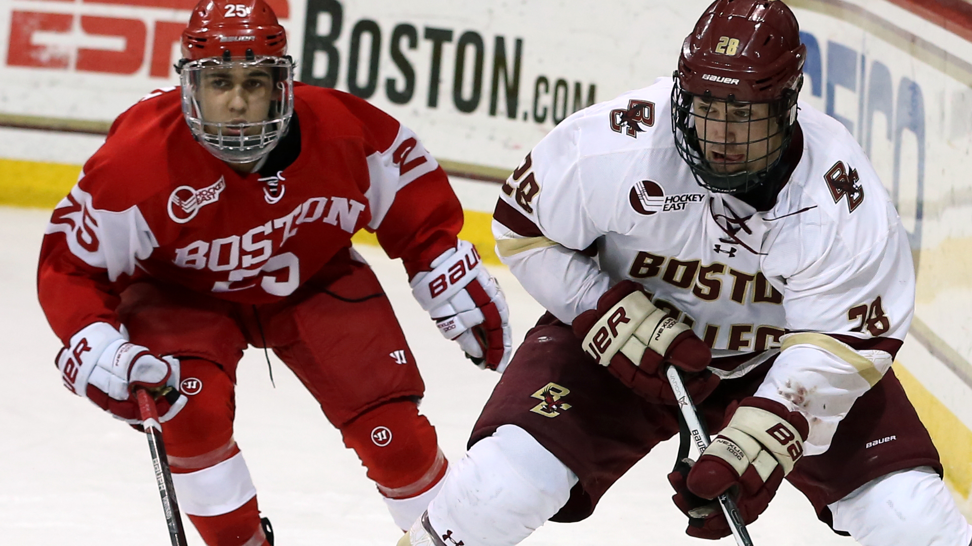 cheaper 5d69e f90bc Miles Wood - Men's Hockey - Boston College Athletics