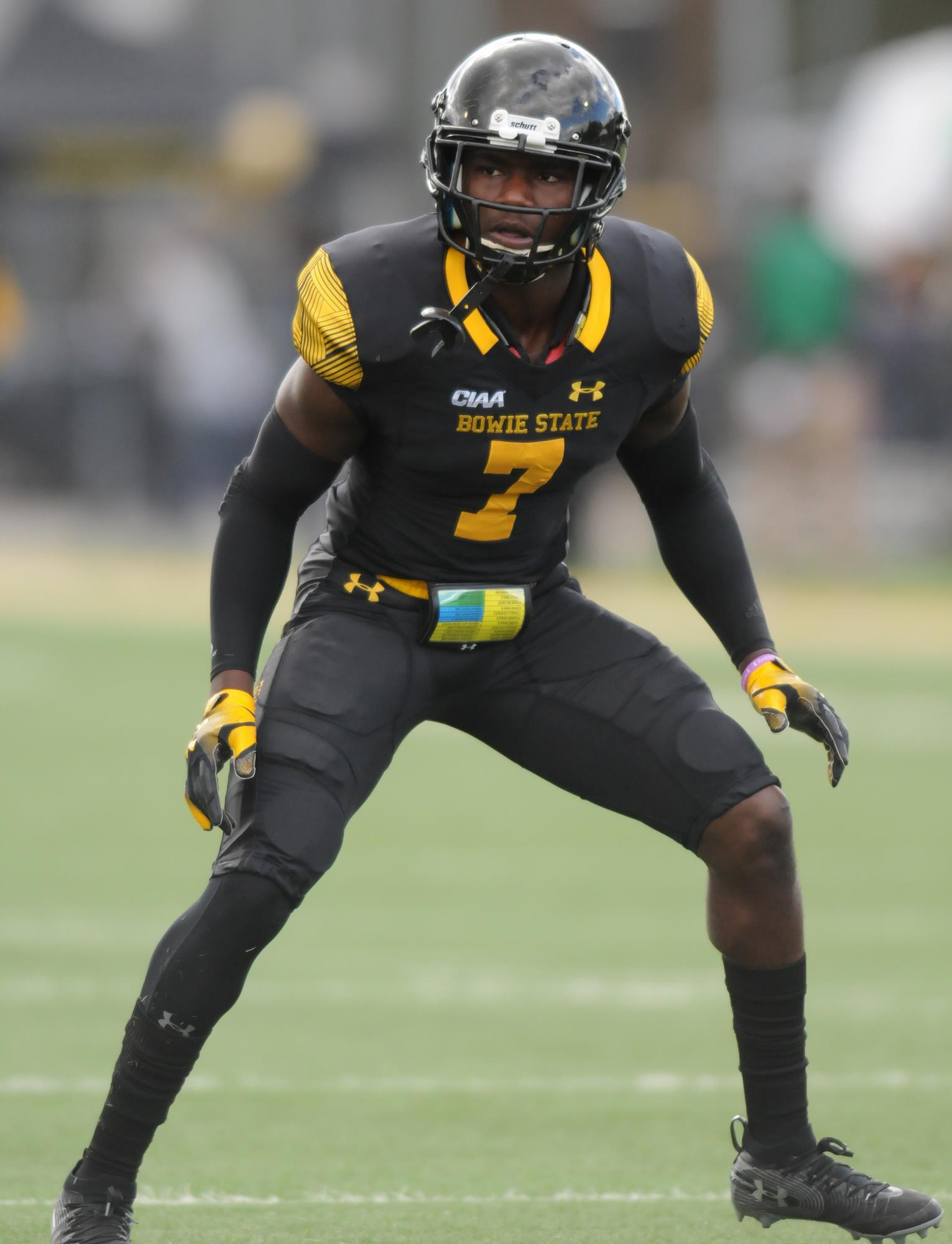 Taylor Johnson Football Bowie State University Athletics