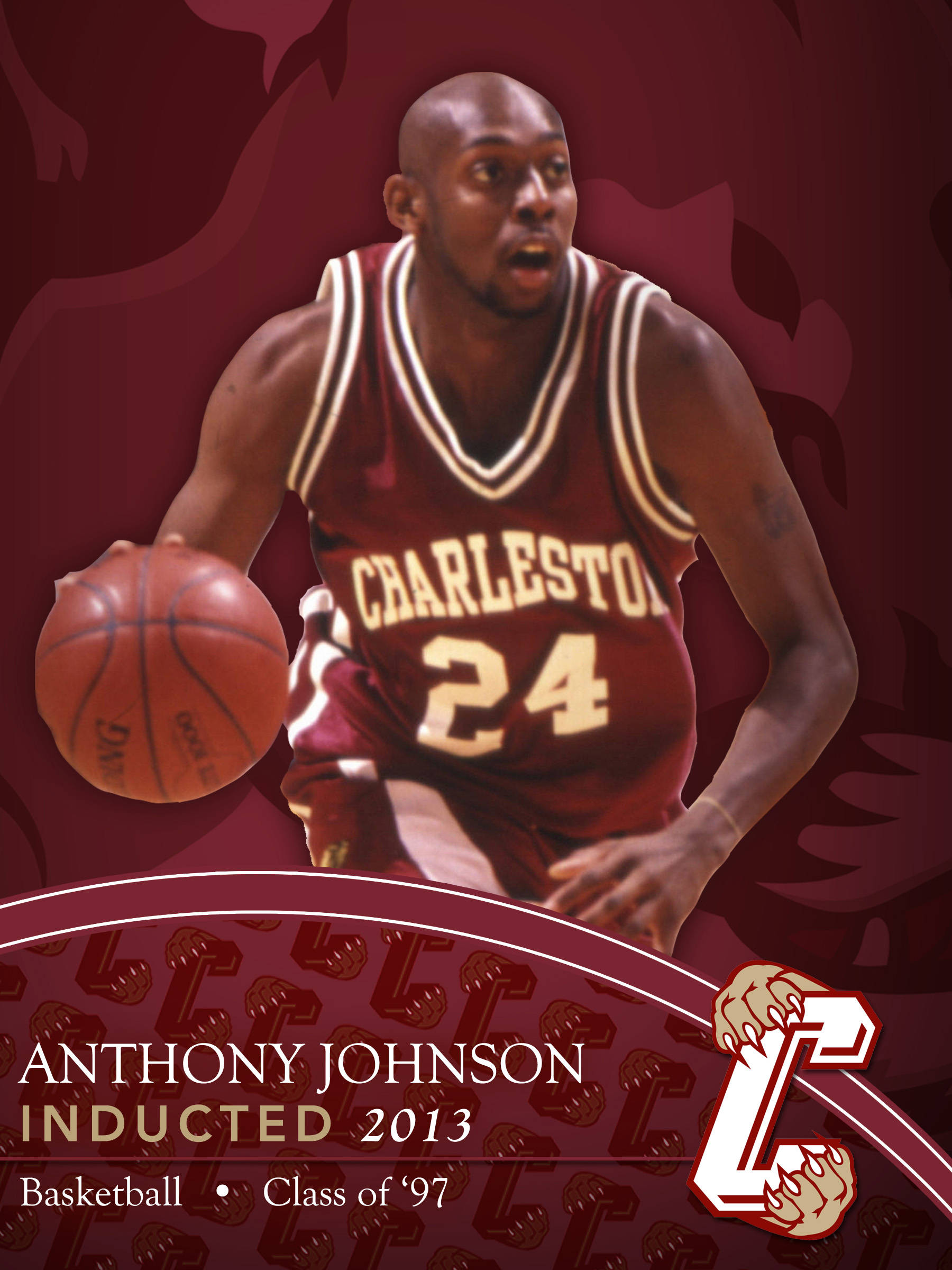 best website 8f52a 3f23d CofC Athletics Hall of Fame: Anthony Johnson - College of ...