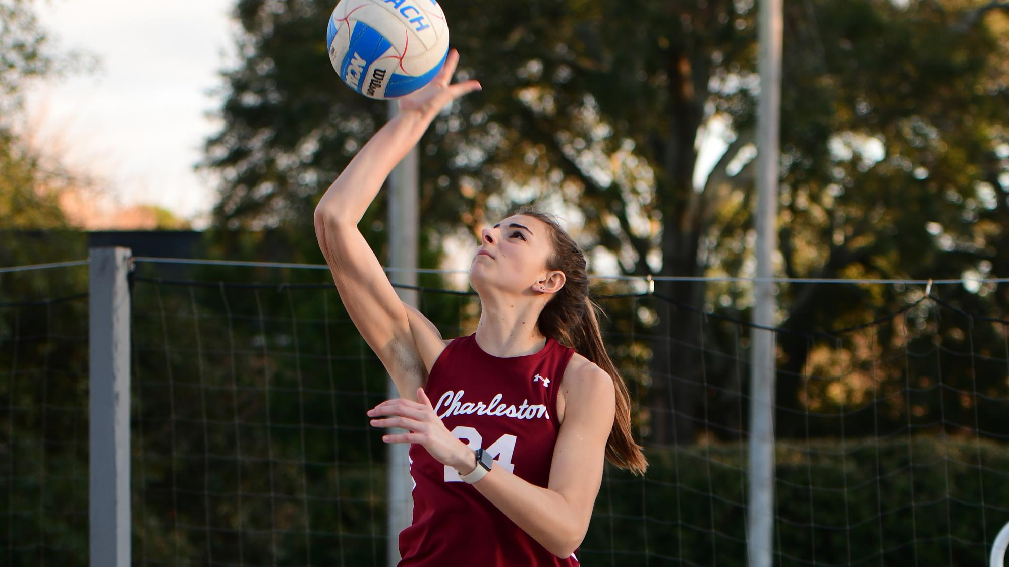 Claire Campbell Beach Volleyball College Of Charleston Athletics