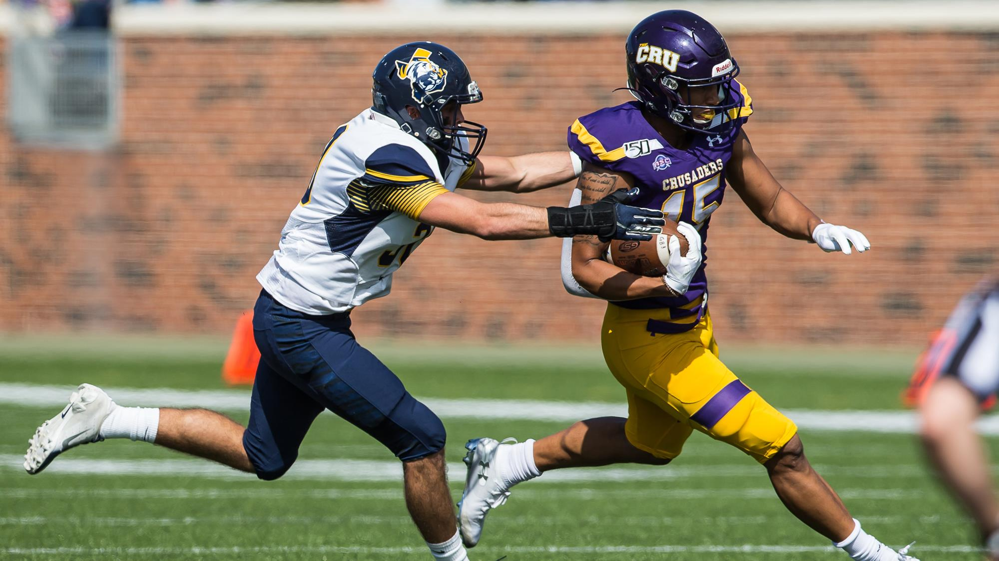 Jonel Reed Football University Of Mary Hardin Baylor Athletics