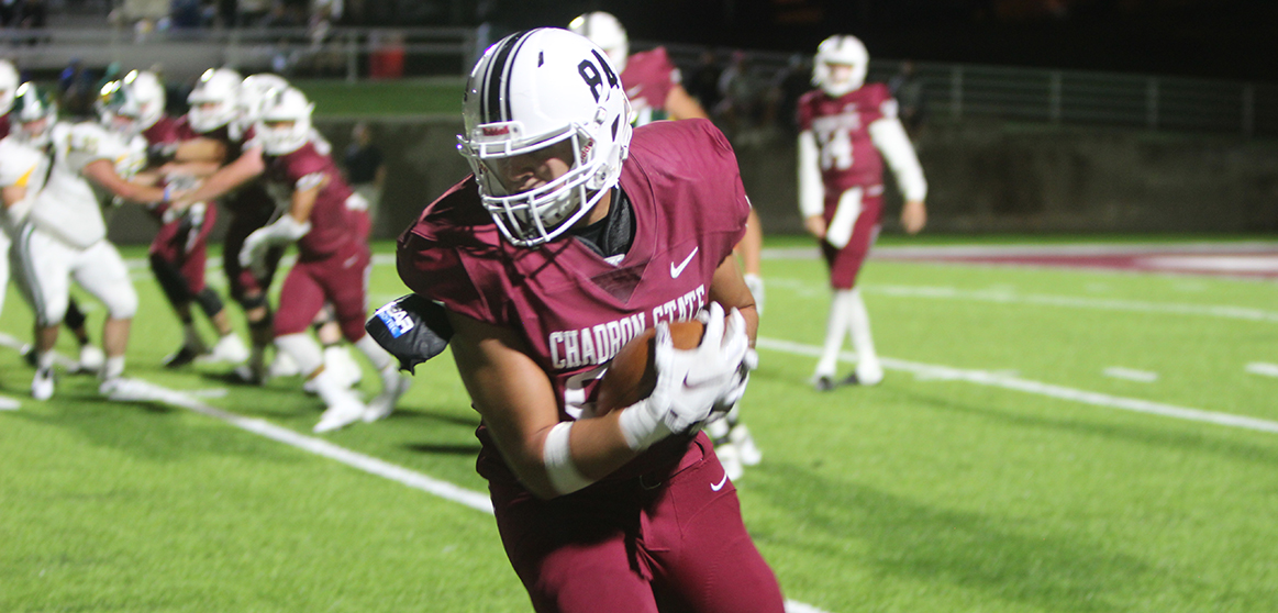 Baylor Hayes Football Chadron State College Athletics