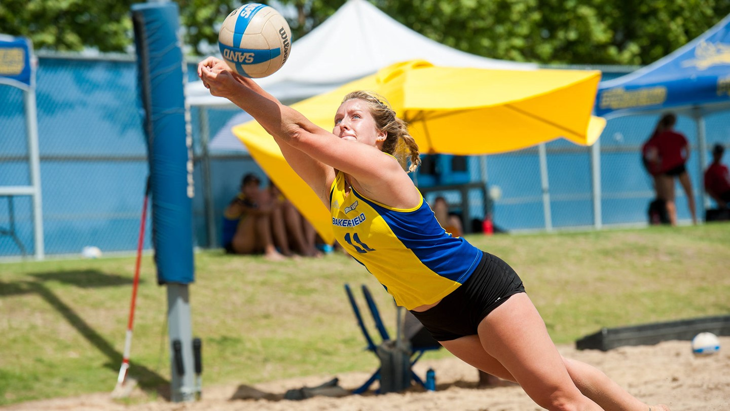 Sarah Garrow Beach Volleyball California State University At Bakersfield Athletics