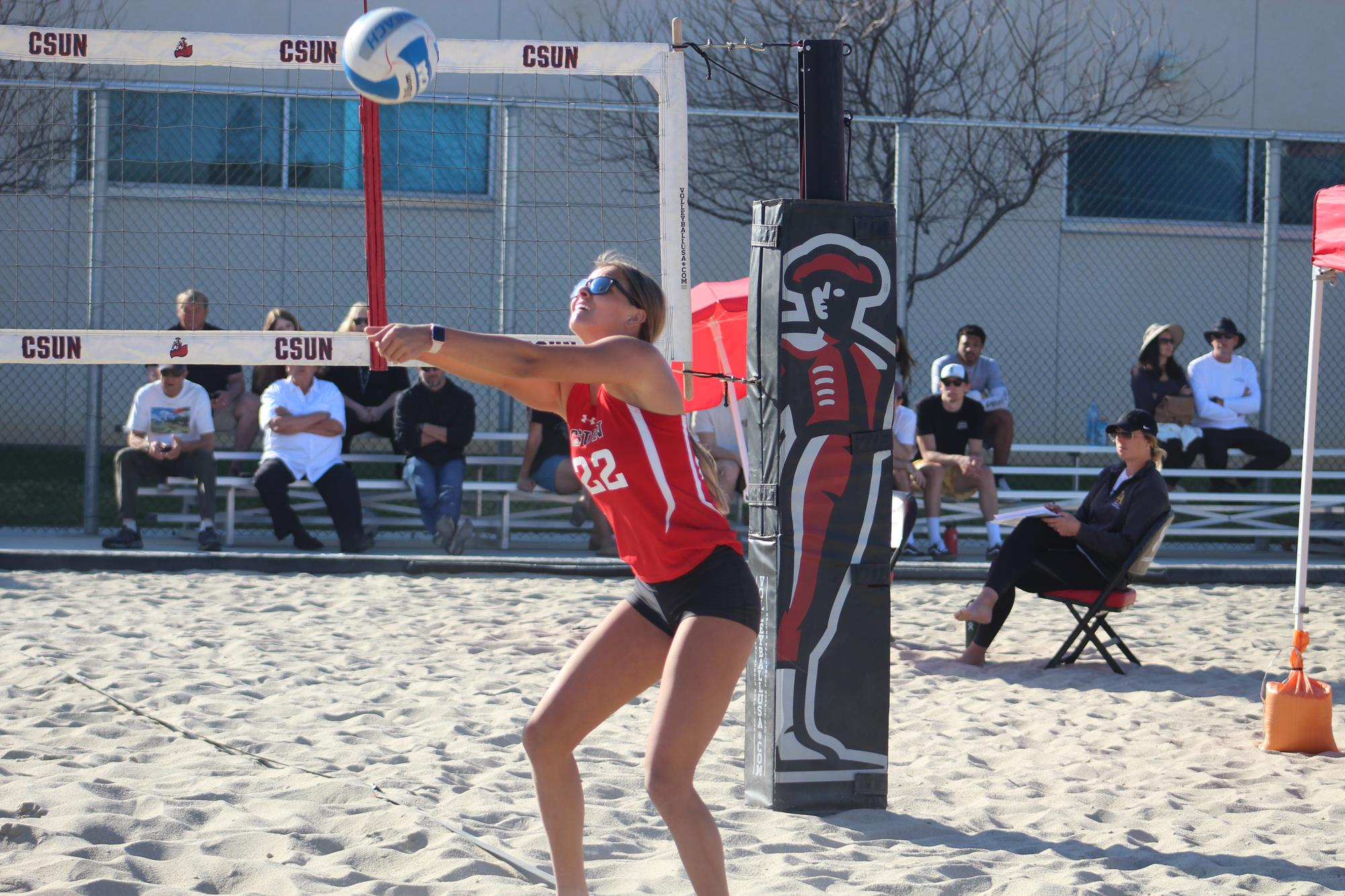 Mikaela Maughan 2021 Beach Volleyball Csun Athletics