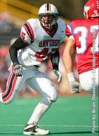 Peter Bakke Football Davidson College Athletics