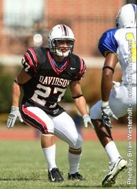 Matt Mikrut Football Davidson College Athletics