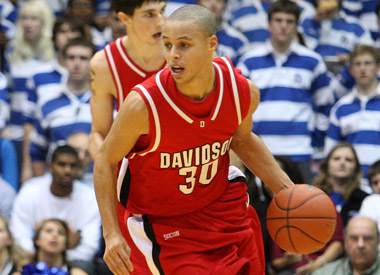 huge selection of 61070 5fb92 Stephen Curry - Men's Basketball - Davidson College Athletics