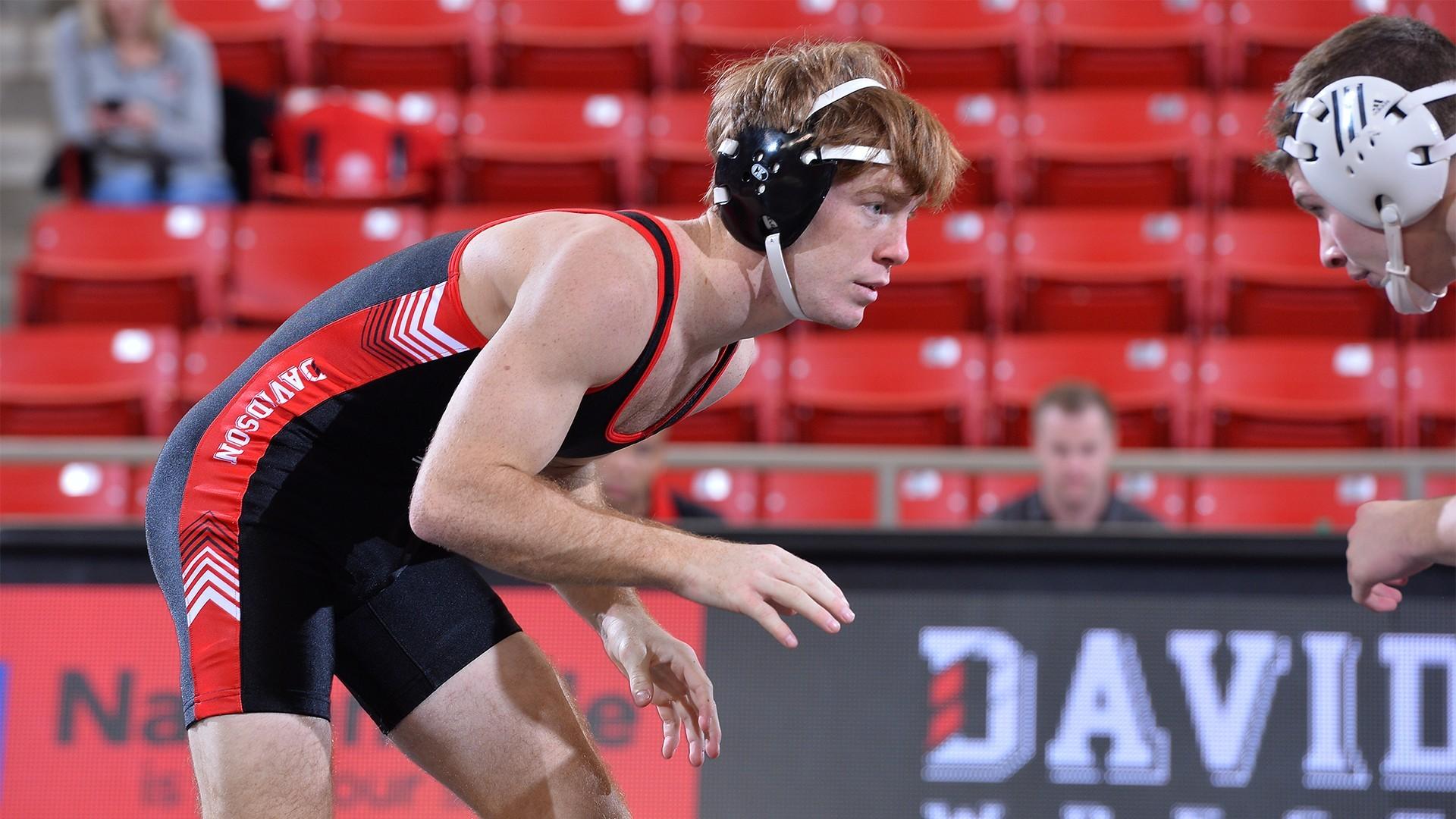 Dustin Runzo - Wrestling - Davidson College Athletics