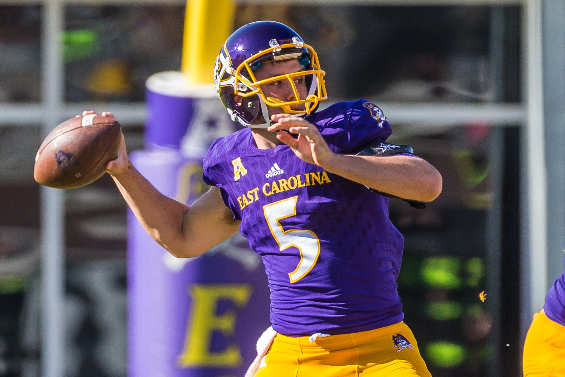 Gardner Minshew Football East Carolina University Athletics
