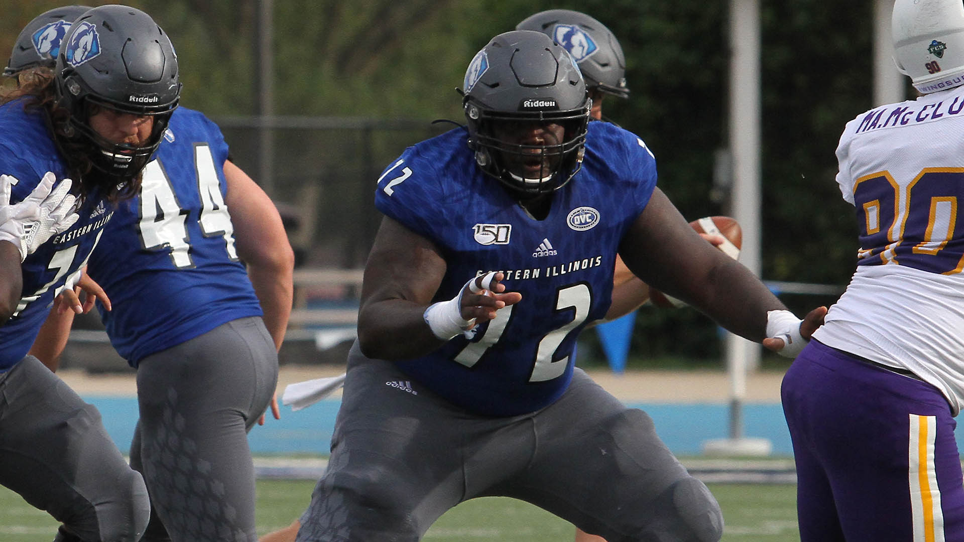 Image result for luther harris eastern illinois