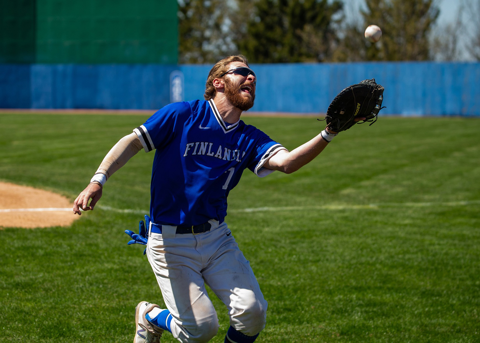 Nik Geiser Baseball Finlandia University Athletics