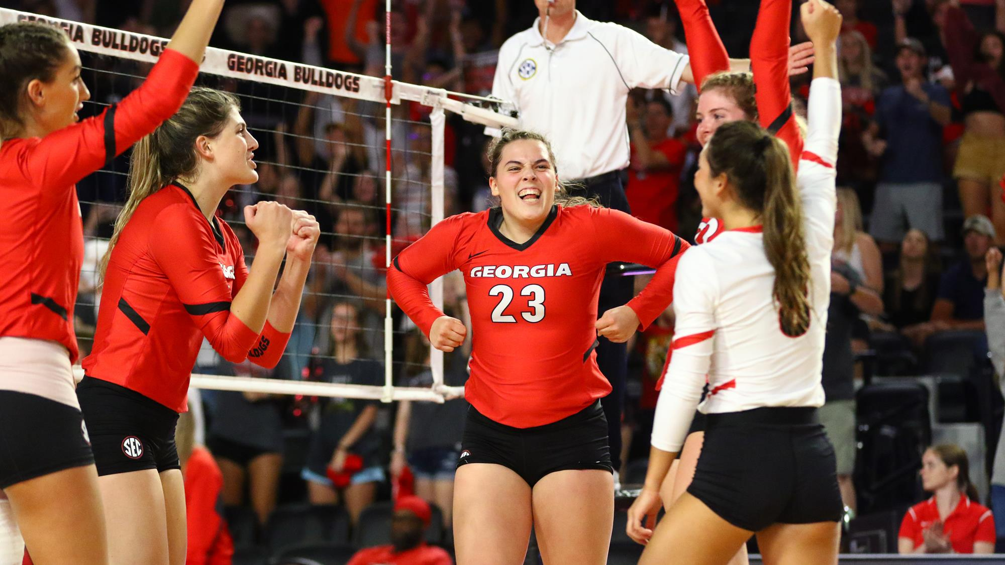 Photo: Kacie Evans (23), University of Georgia Athletics