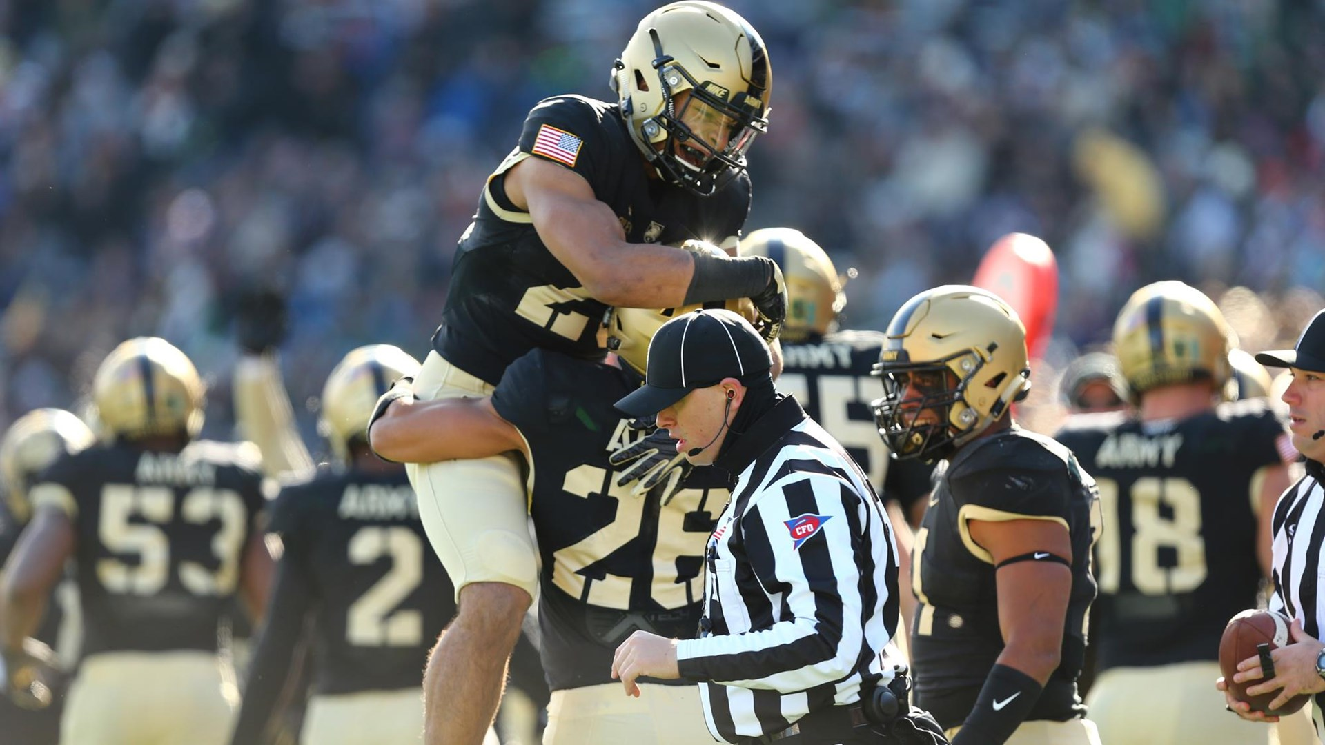when is the army navy football game 2020